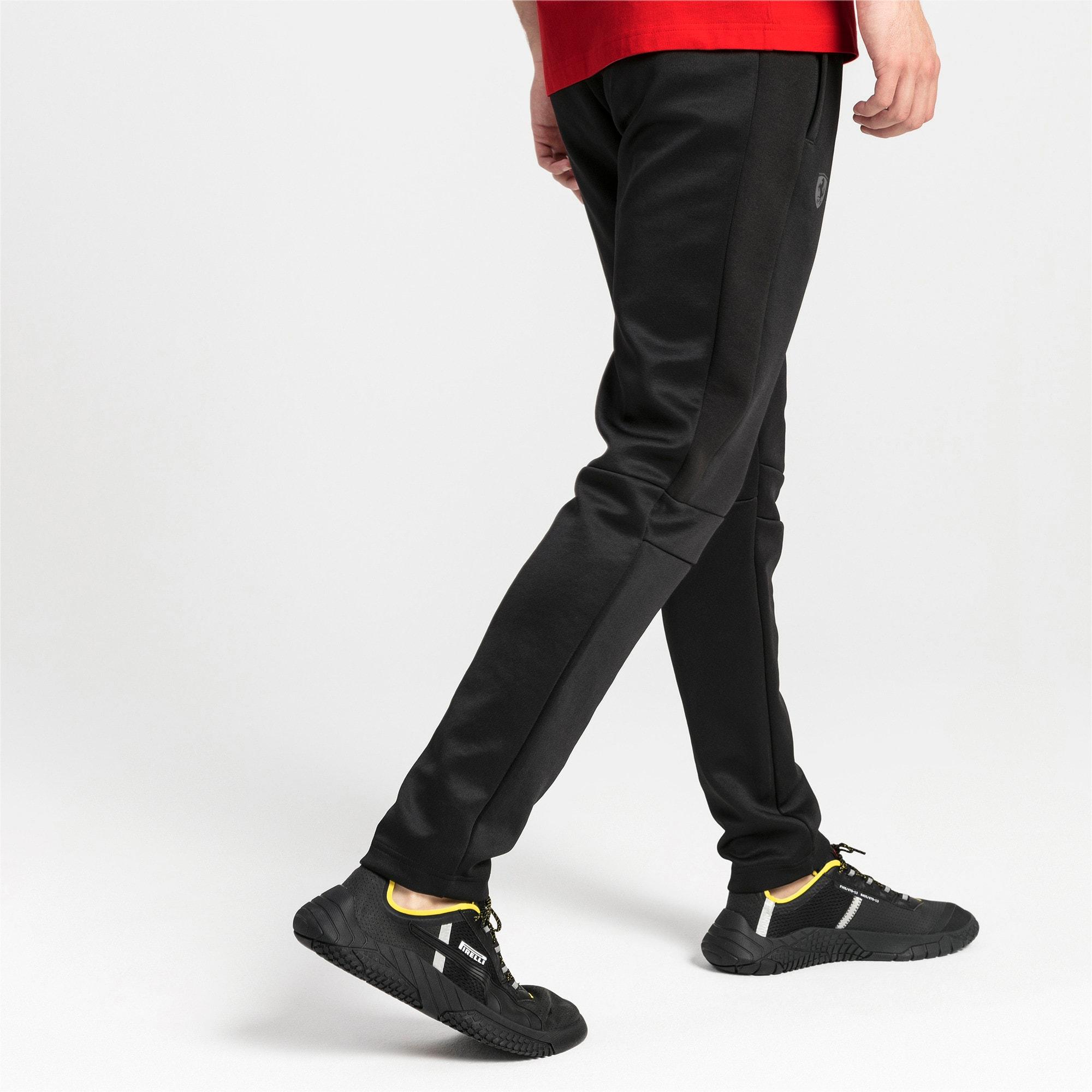 Thumbnail 2 of Ferrari T7 Men's Track Pants, Puma Black, medium