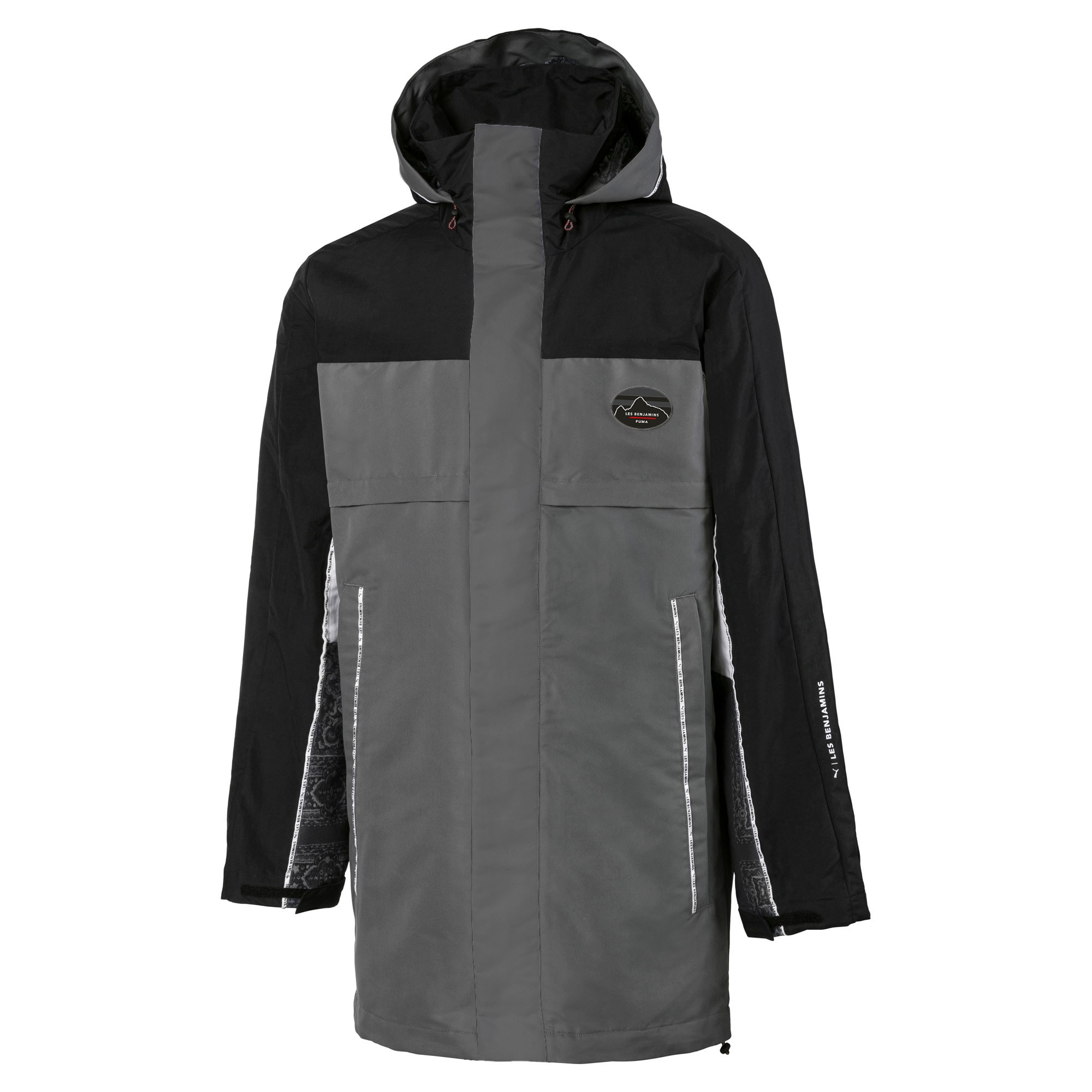 Thumbnail 1 of PUMA x LES BENJAMINS Men's Storm Jacket, Puma Black, medium