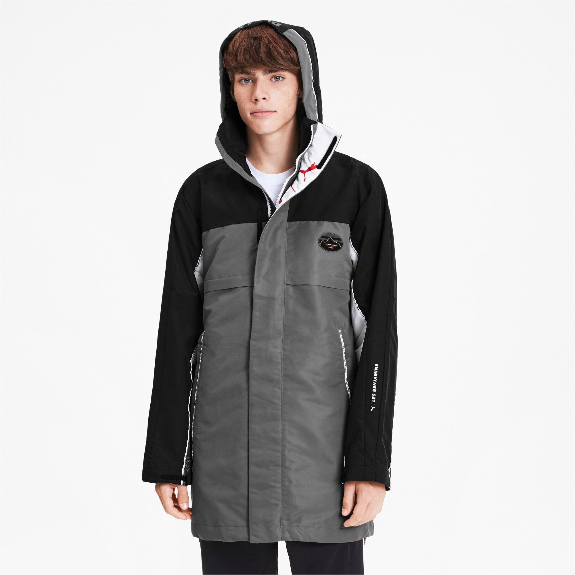 Thumbnail 2 of PUMA x LES BENJAMINS Men's Storm Jacket, Puma Black, medium