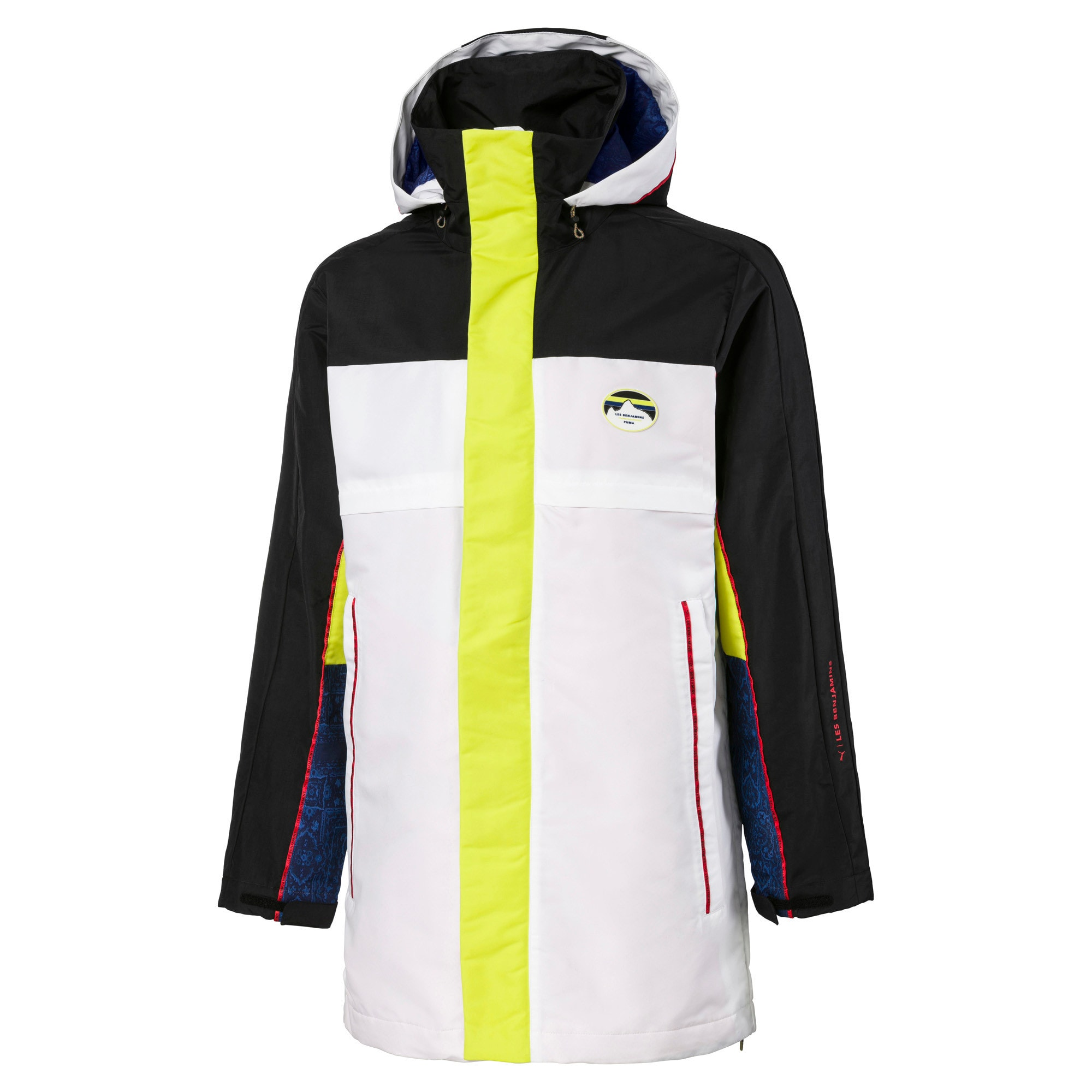 Thumbnail 1 of PUMA x LES BENJAMINS Storm Woven Men's Jacket, Puma White, medium