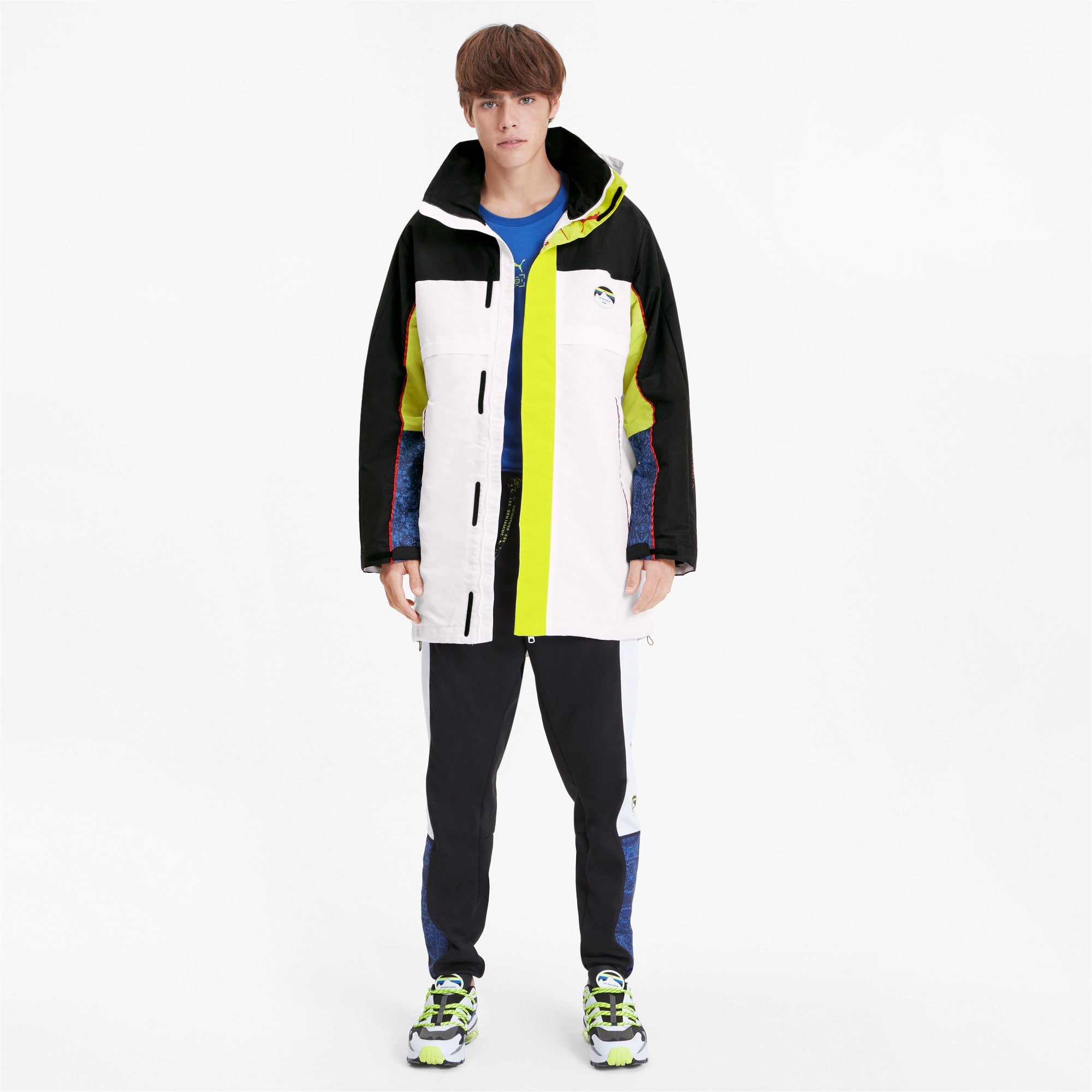 Thumbnail 4 of PUMA x LES BENJAMINS Men's Storm Jacket, Puma White, medium