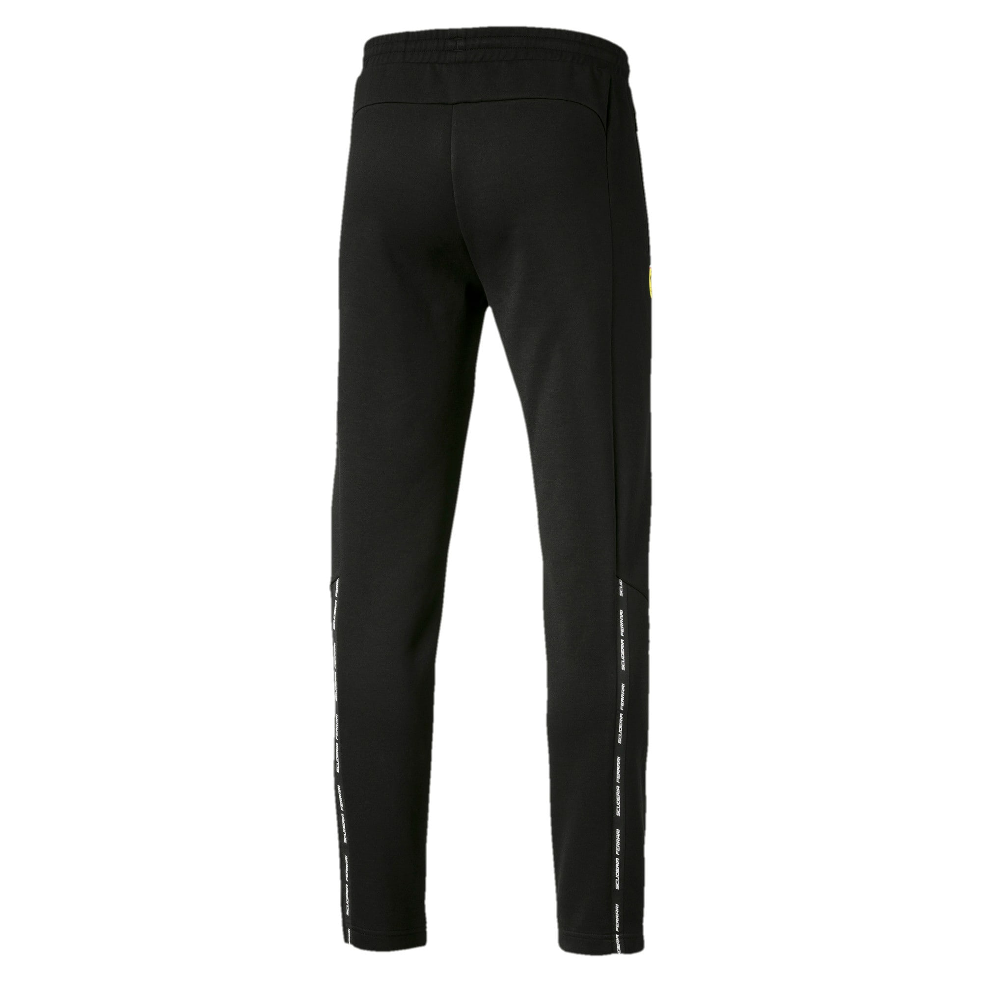 Thumbnail 5 of Ferrari Slim Men's Sweatpants, Puma Black, medium