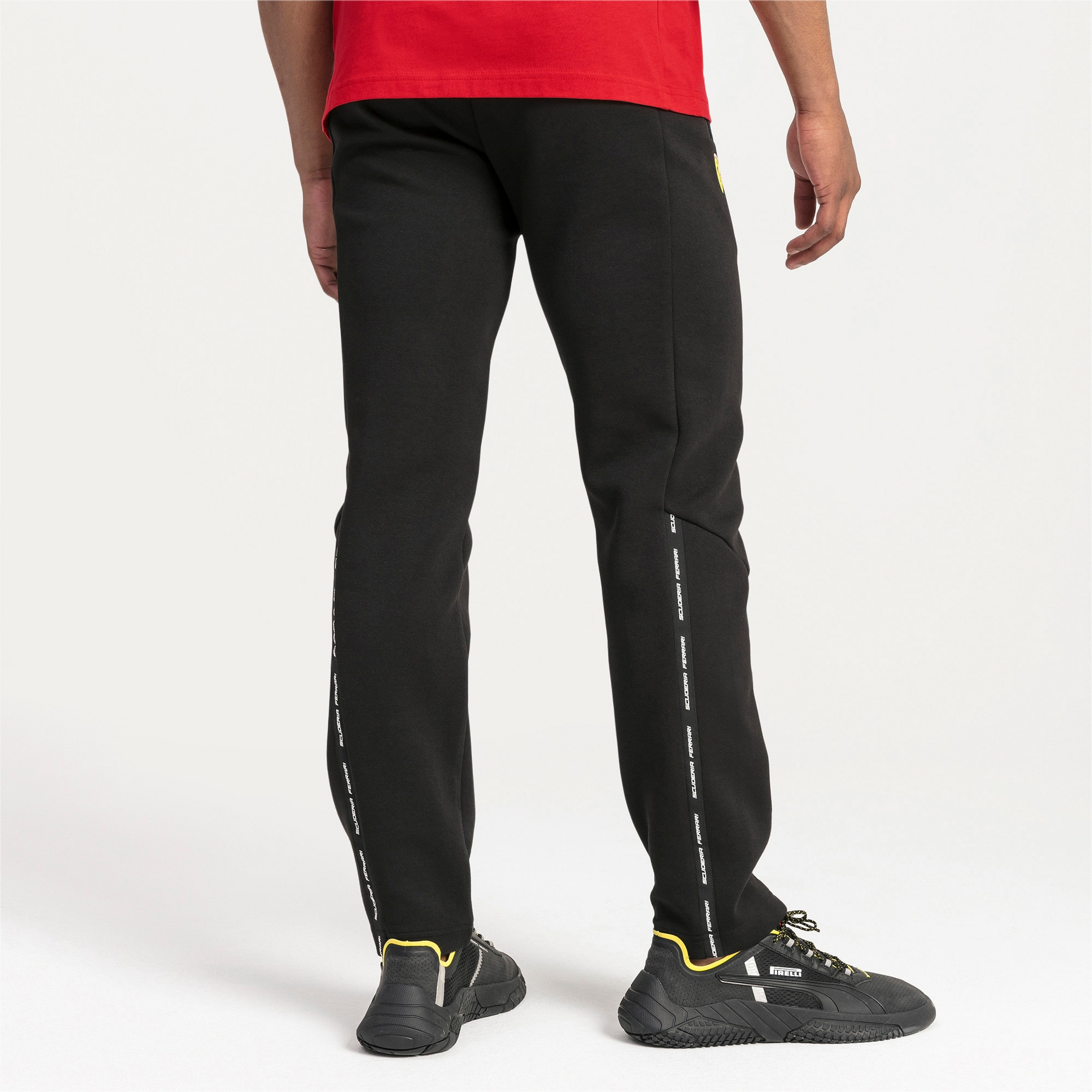 Thumbnail 2 of Ferrari Slim Men's Sweatpants, Puma Black, medium