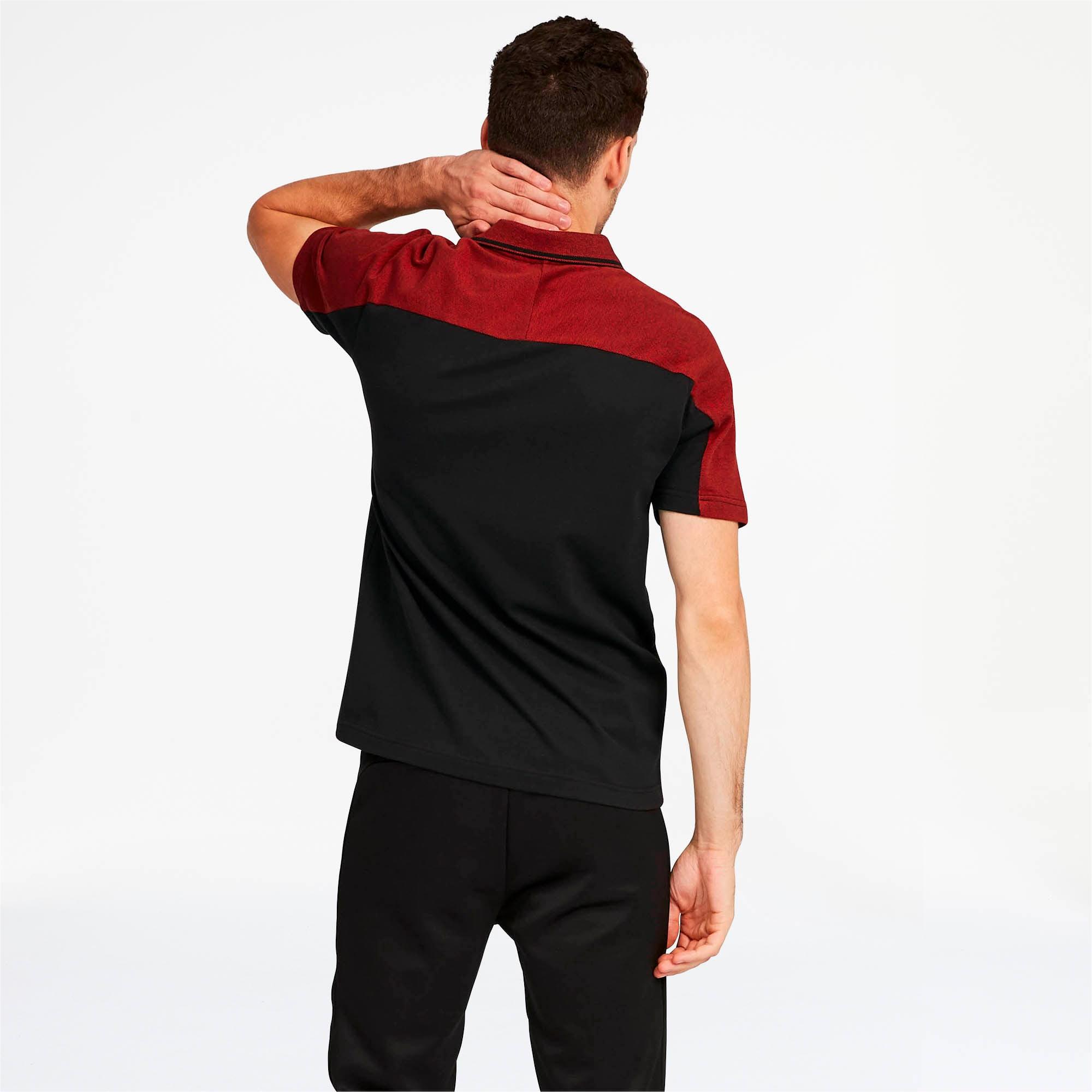 Miniatura 2 de Camiseta tipo polo Scuderia Ferrari Mix para hombre, Puma Black, mediano