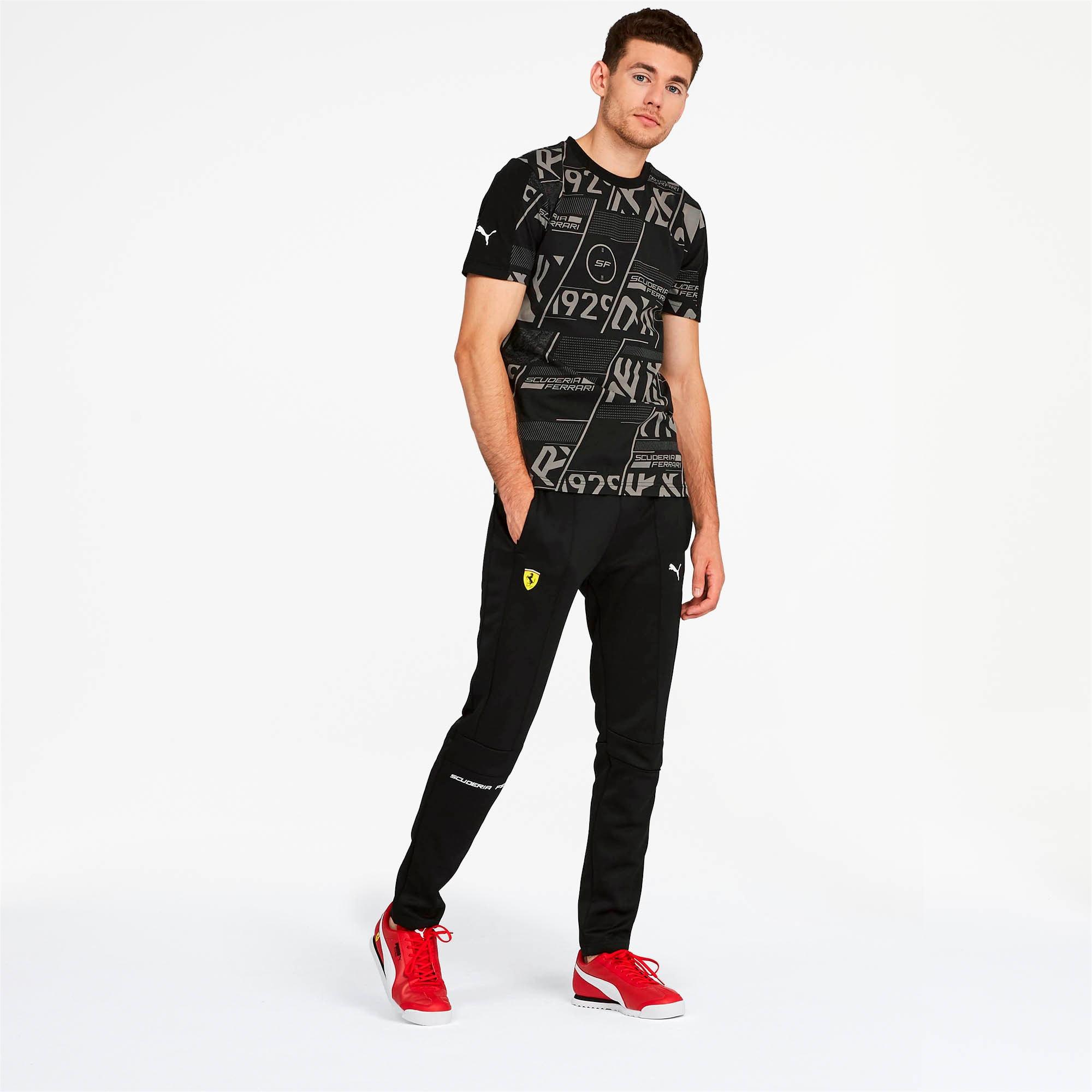 Miniatura 3 de Camiseta Scuderia Ferrari AOP para hombre, Puma Black, mediano