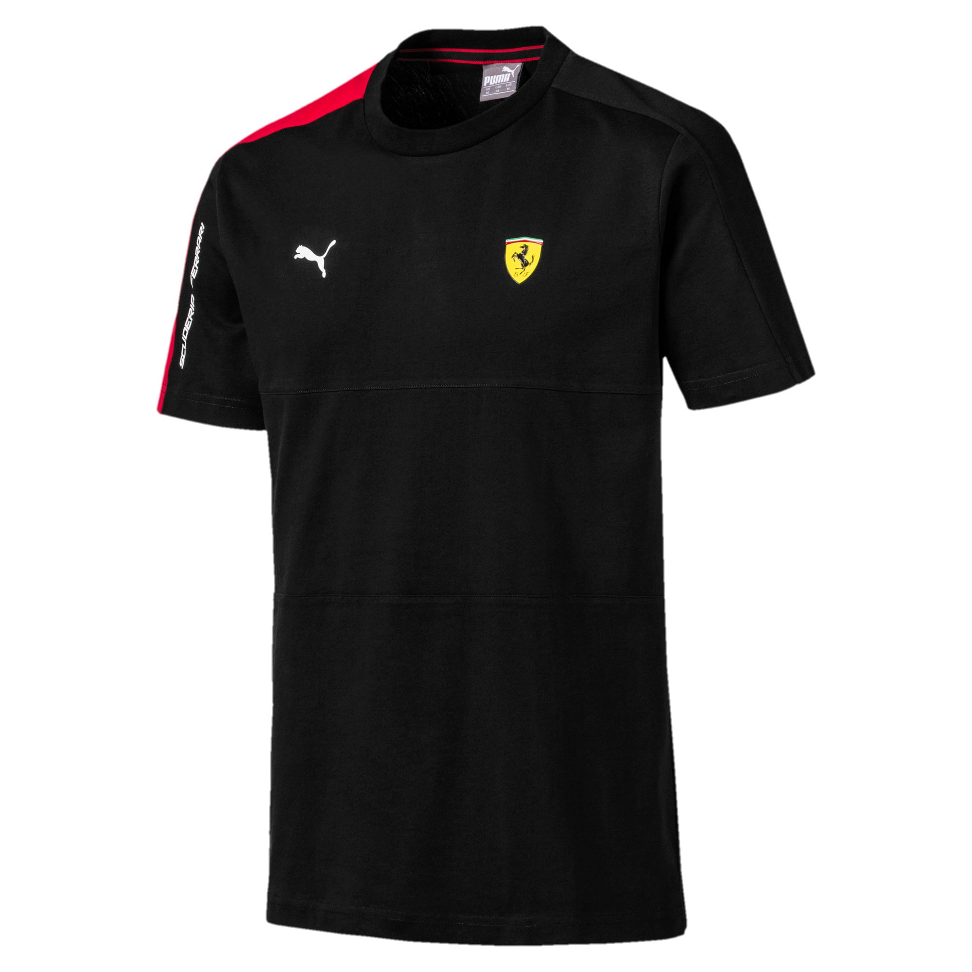 Thumbnail 4 of T-shirt Scuderia Ferrari T7 uomo, Puma Black, medium