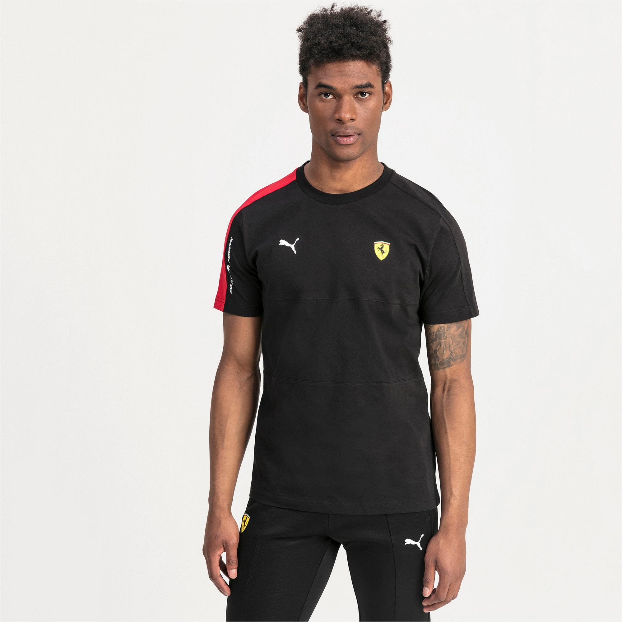 Thumbnail 1 of T-shirt Scuderia Ferrari T7 uomo, Puma Black, medium
