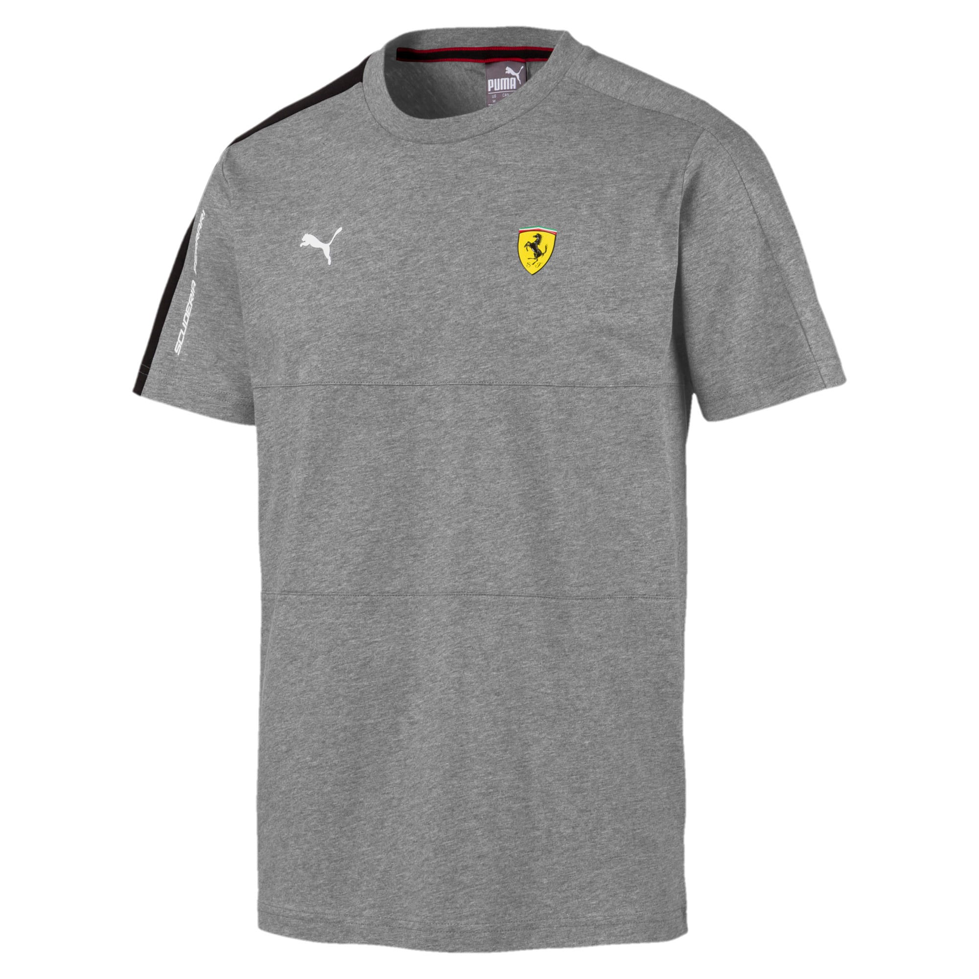 Thumbnail 4 of T-shirt Scuderia Ferrari T7 uomo, Medium Gray Heather, medium