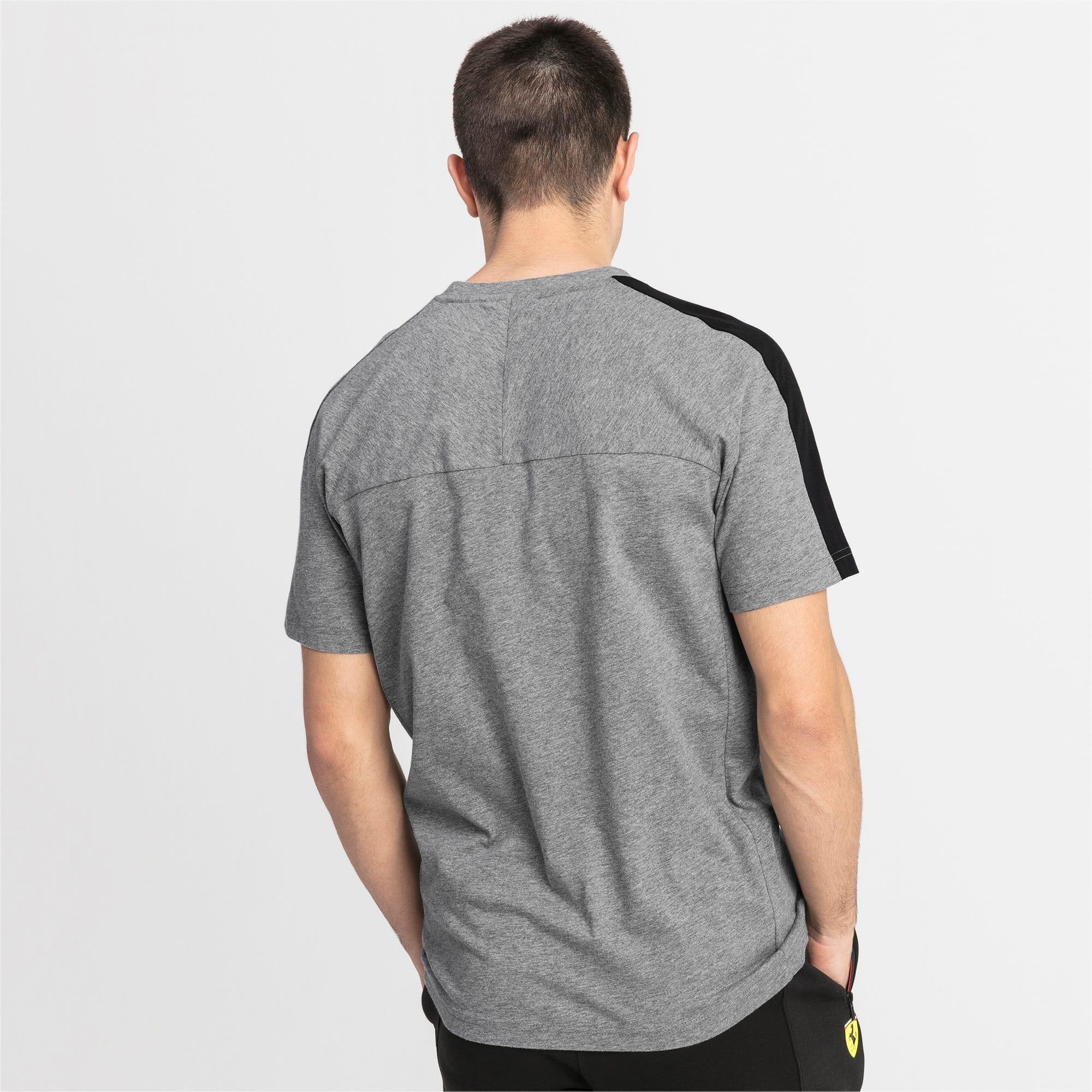 Thumbnail 2 of T-shirt Scuderia Ferrari T7 uomo, Medium Gray Heather, medium