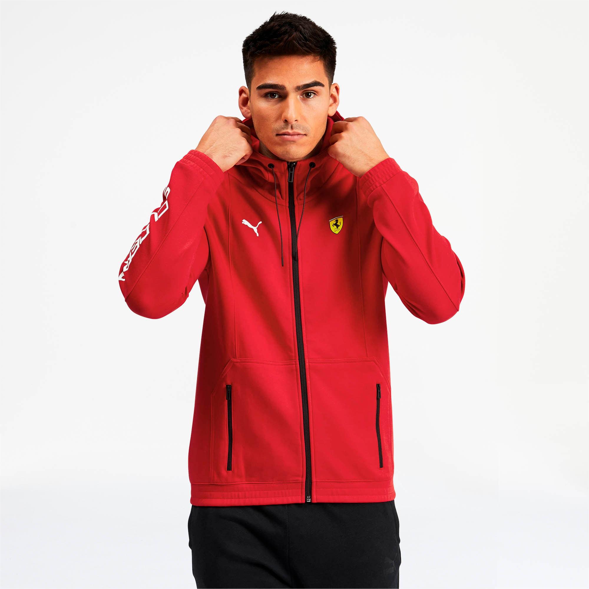 Scuderia Ferrari Men S Hooded Sweat Jacket Puma Us