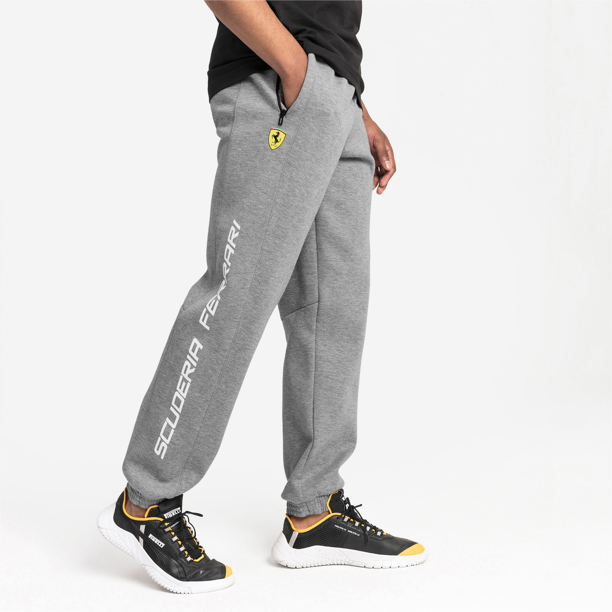 Thumbnail 1 of Ferrari Men's Sweatpants, Medium Gray Heather, medium