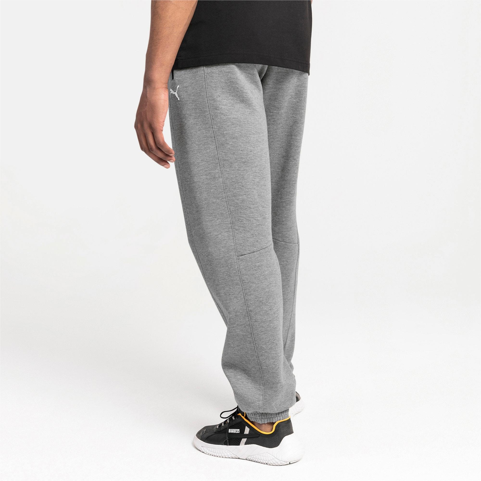 Thumbnail 2 of Ferrari Men's Sweatpants, Medium Gray Heather, medium