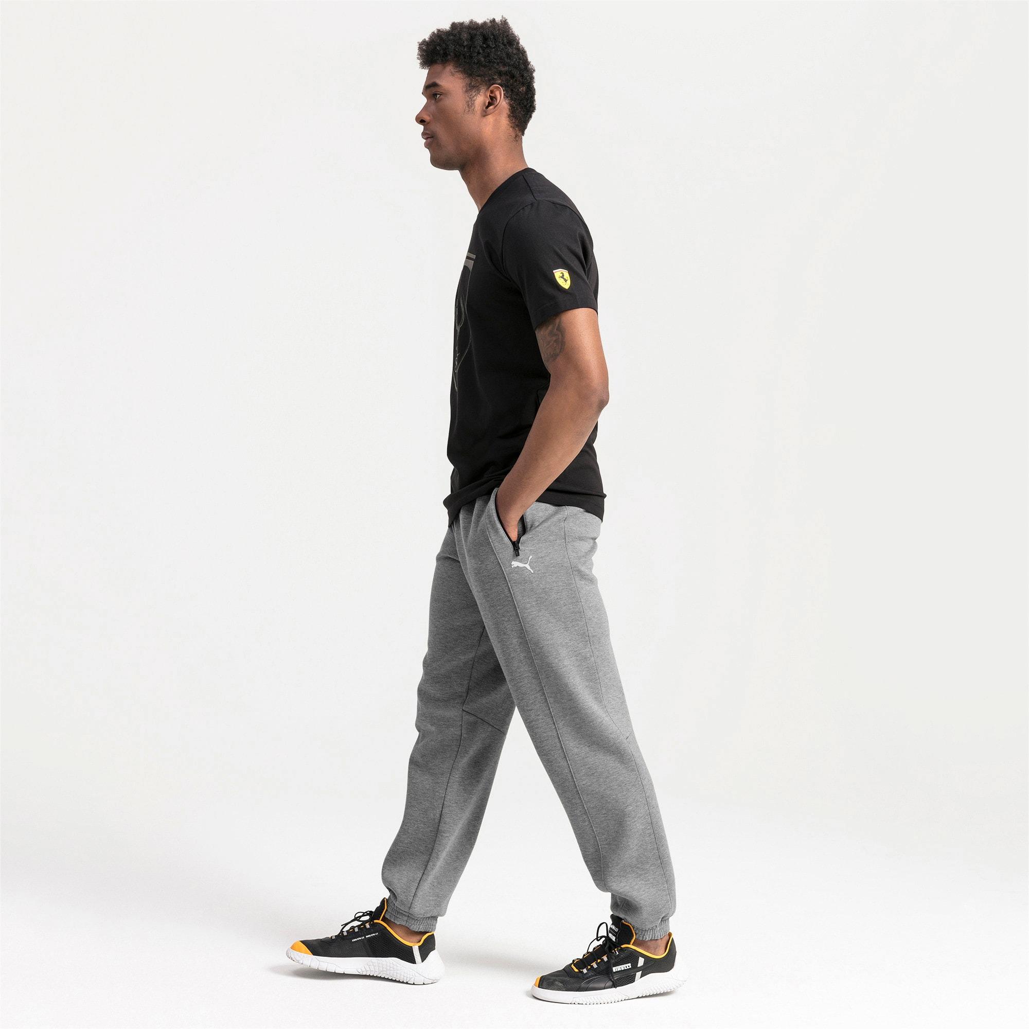 Thumbnail 3 of Ferrari Men's Sweatpants, Medium Gray Heather, medium