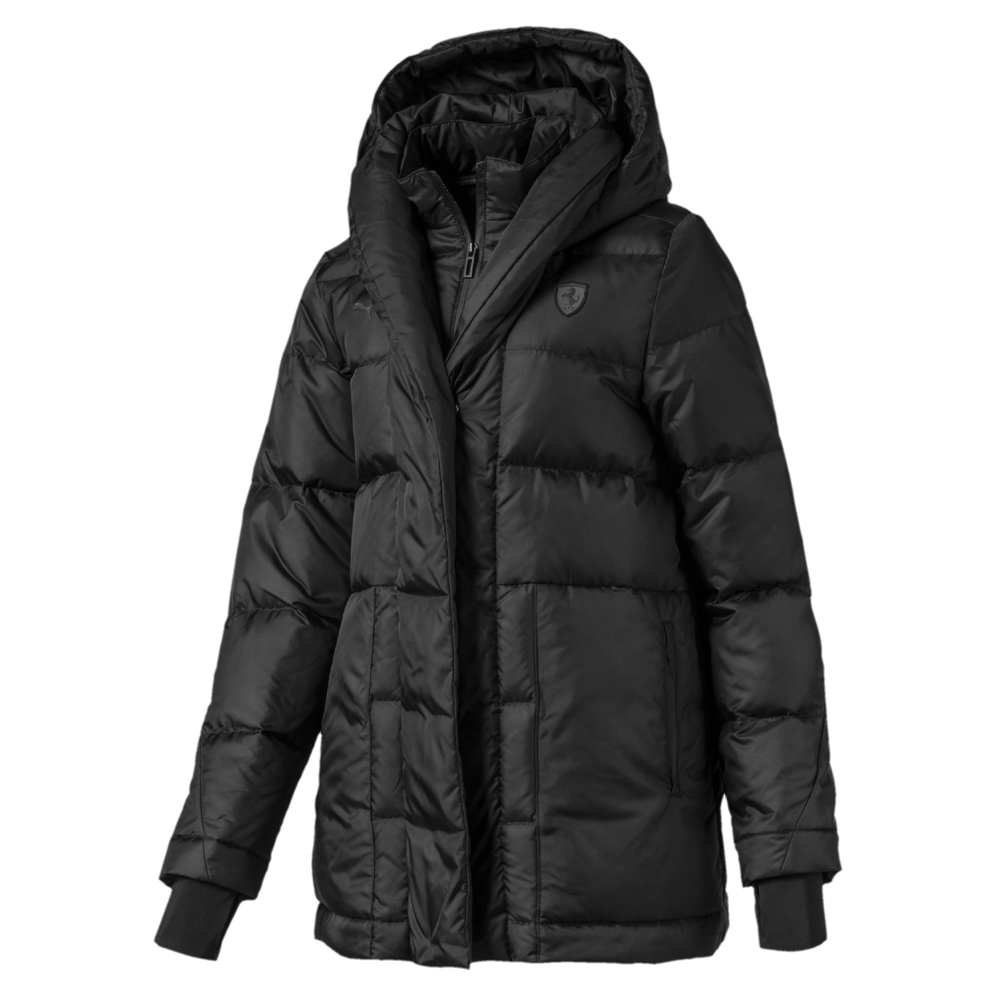 Thumbnail 1 of Scuderia Ferrari Women's Down Jacket, Puma Black, medium
