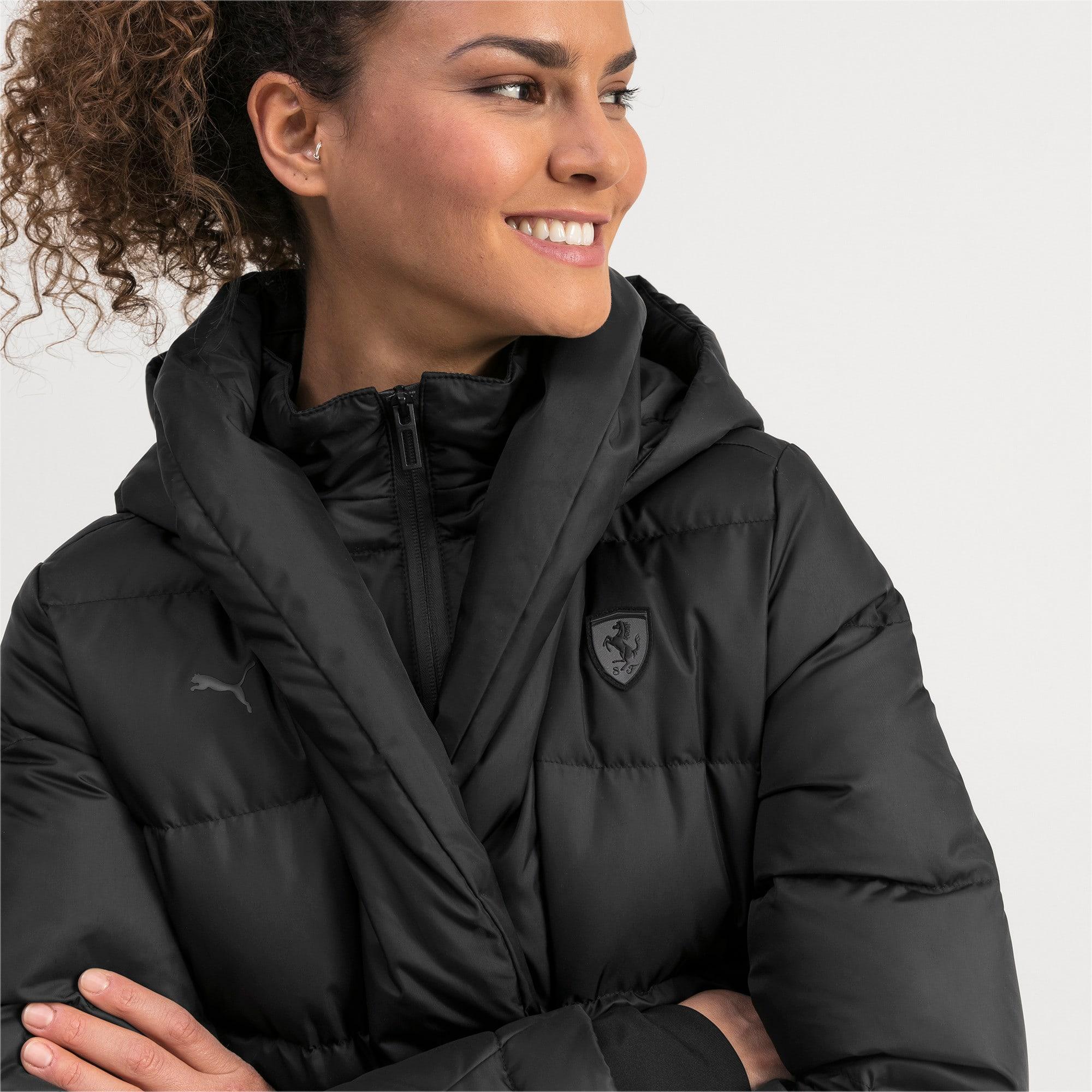 Thumbnail 4 of Ferrari Down Women's Jacket, Puma Black, medium