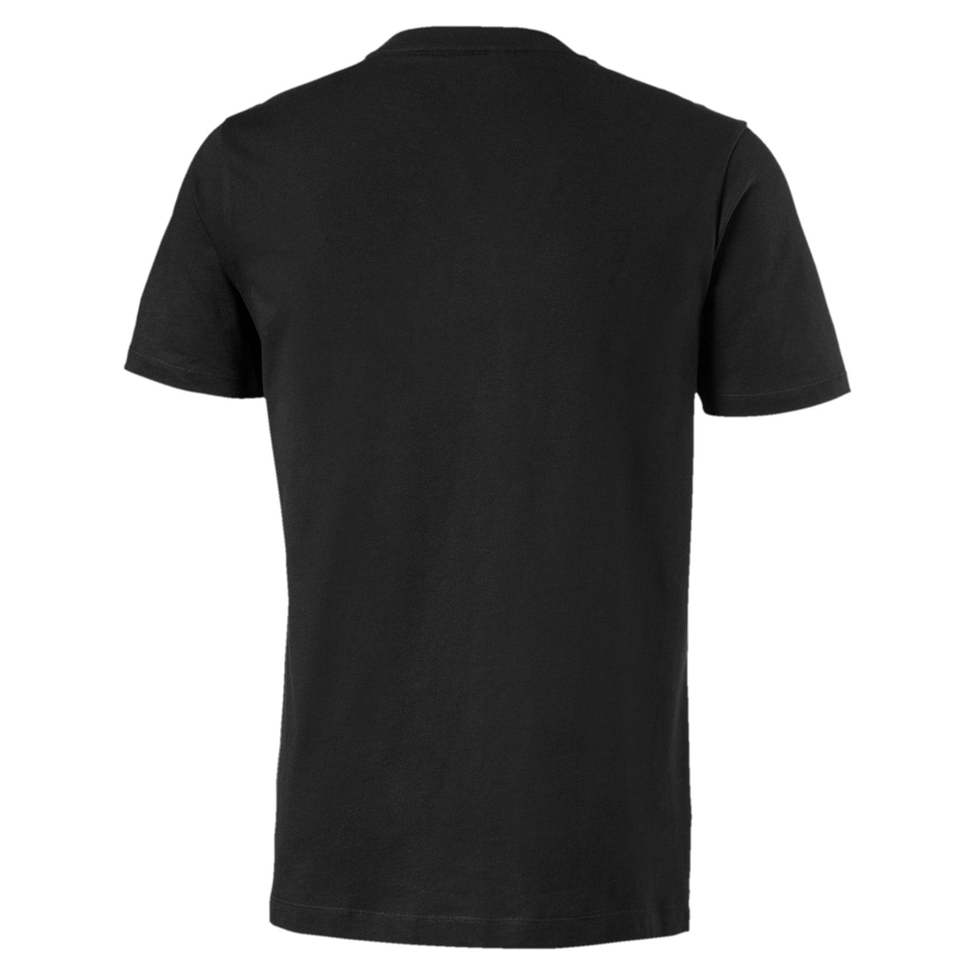 Miniaturka 2 Męska koszulka z logo BMW M Motorsport z grafiką, Puma Black, średnie