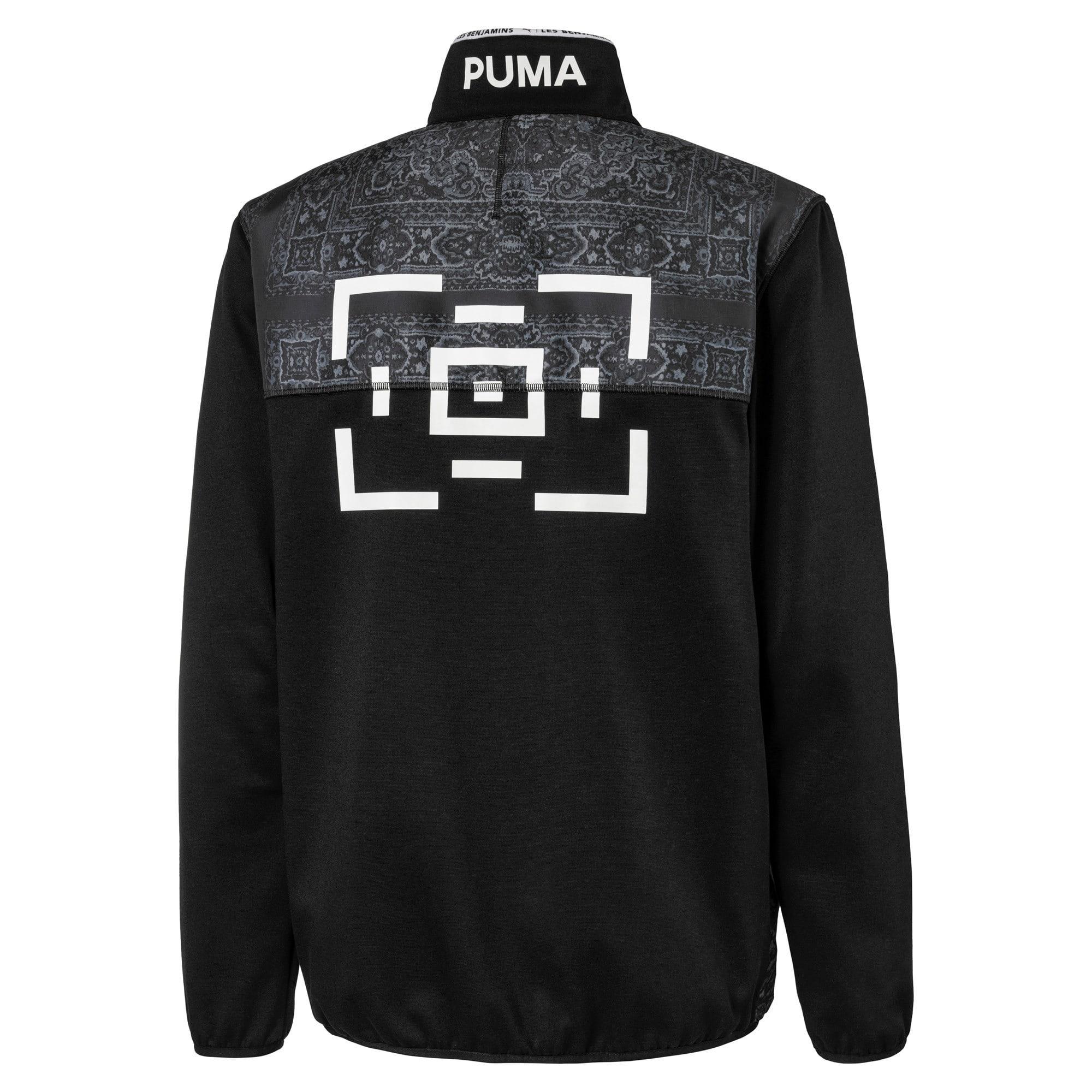 Thumbnail 5 van PUMA x LES BENJAMINS Trainingsjack voor heren, Puma Black, medium