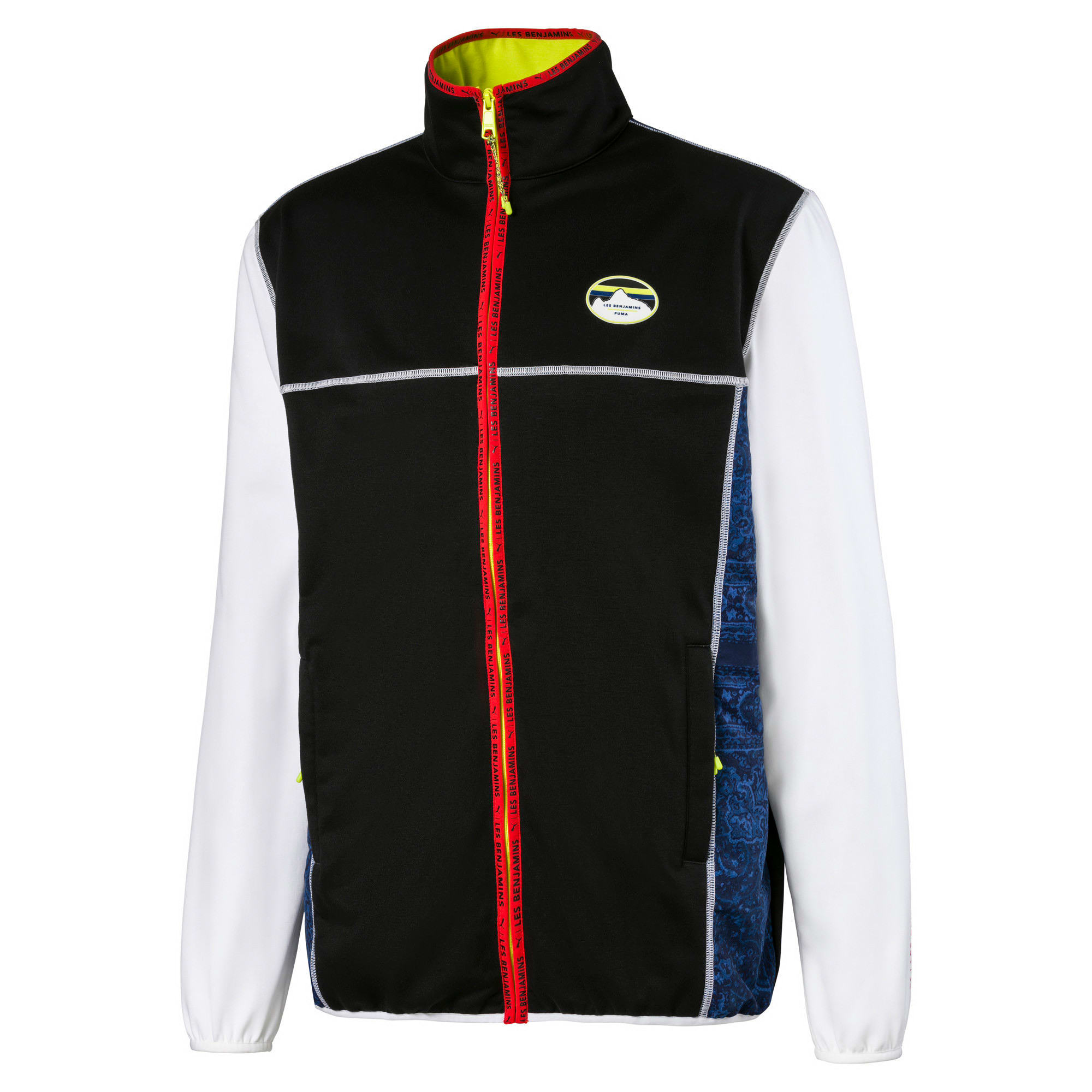 Thumbnail 4 of PUMA x LES BENJAMINS Men's Track Top, Puma White, medium