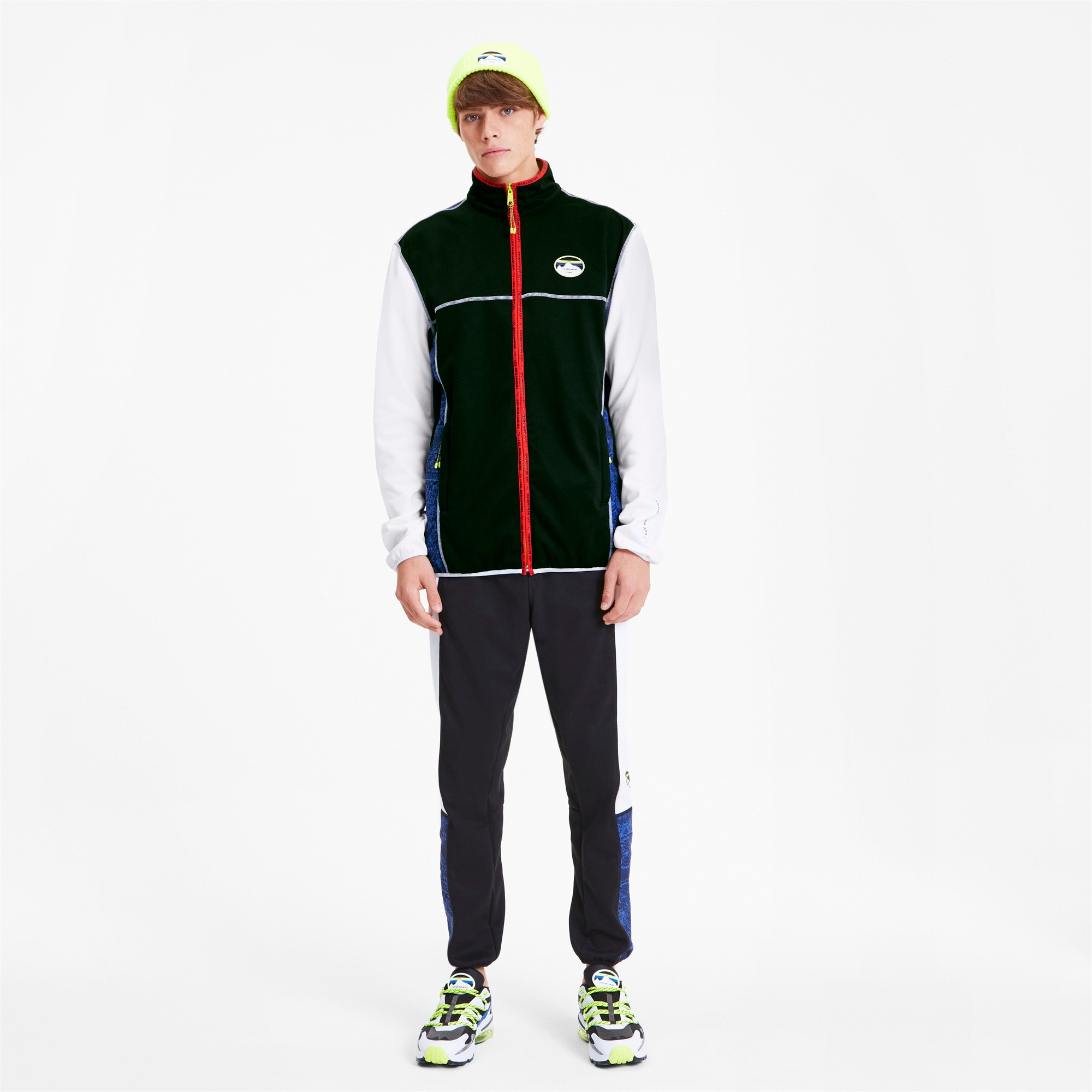 Thumbnail 3 of PUMA x LES BENJAMINS Men's Track Top, Puma White, medium