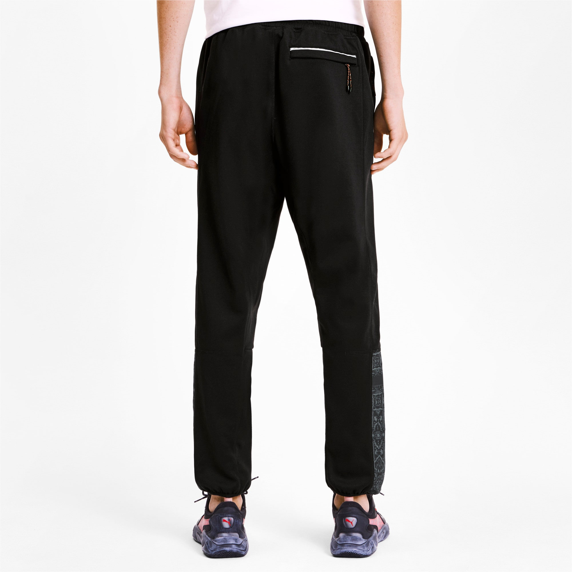 Thumbnail 3 of PUMA x LES BENJAMINS Woven Men's Track Pants, Puma Black, medium