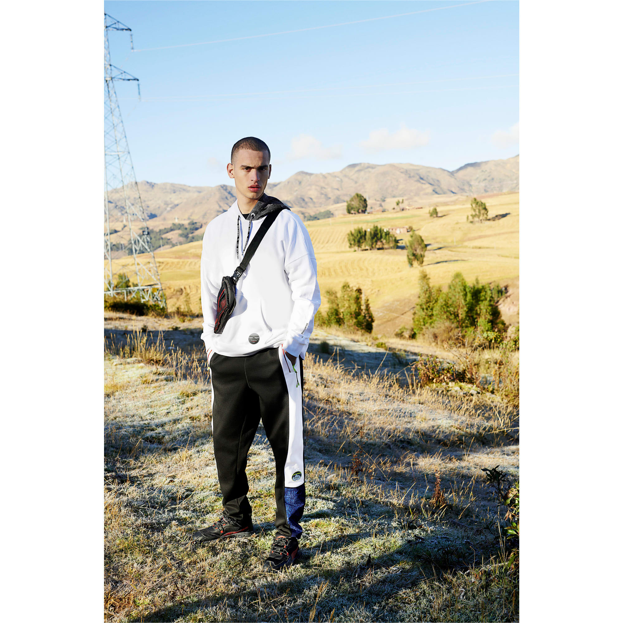 Thumbnail 9 of Pantalon de survêtement tissé PUMA x LES BENJAMINS pour homme, Puma White, medium