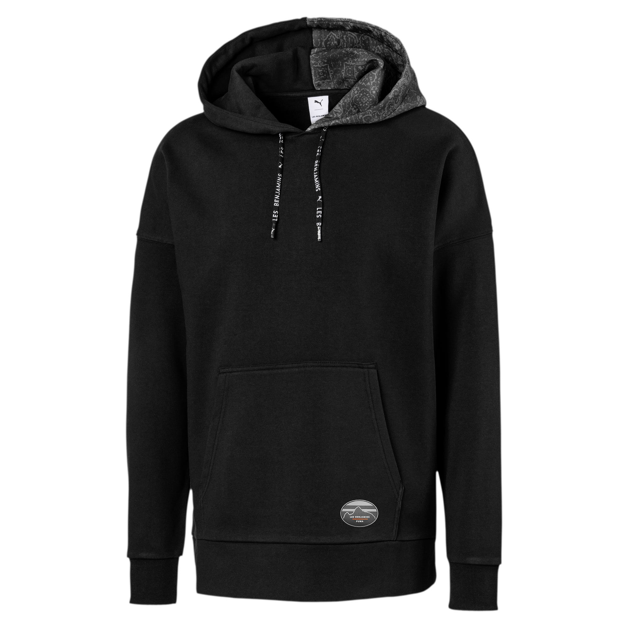 Thumbnail 1 of PUMA x LES BENJAMINS Men's Hoodie, Puma Black, medium
