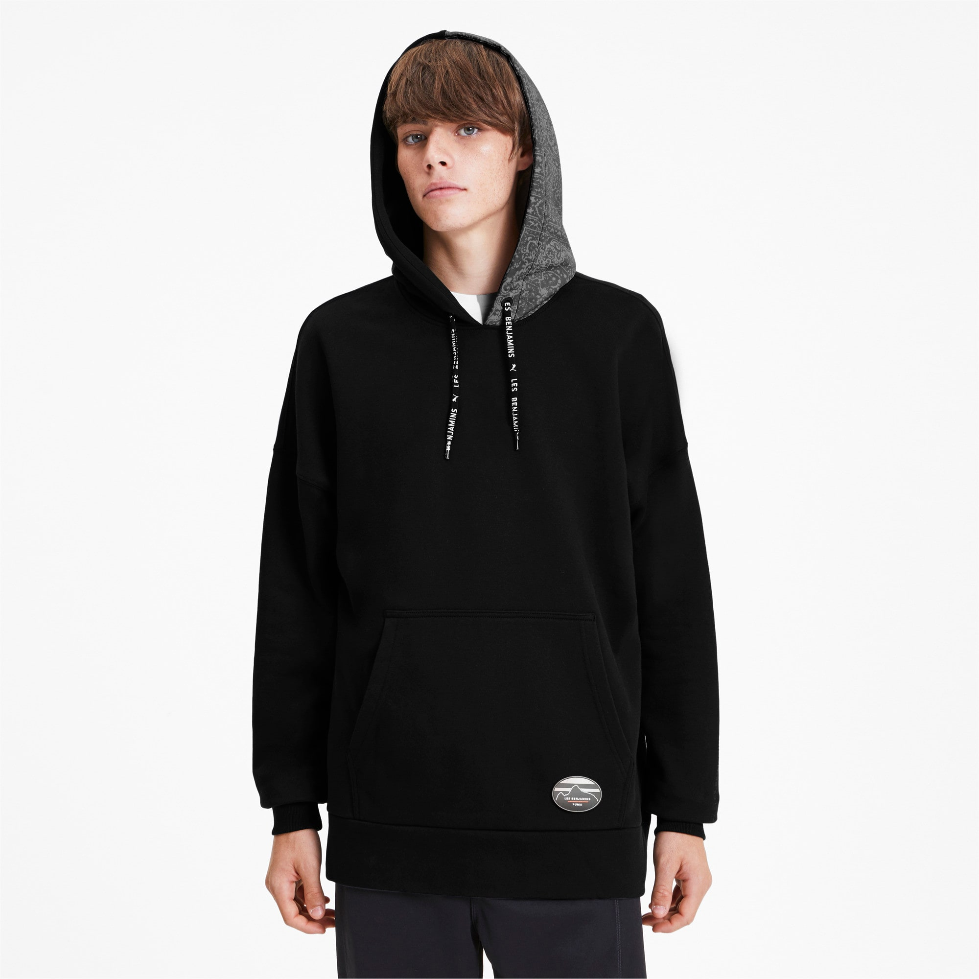Thumbnail 2 of PUMA x LES BENJAMINS Men's Hoodie, Puma Black, medium