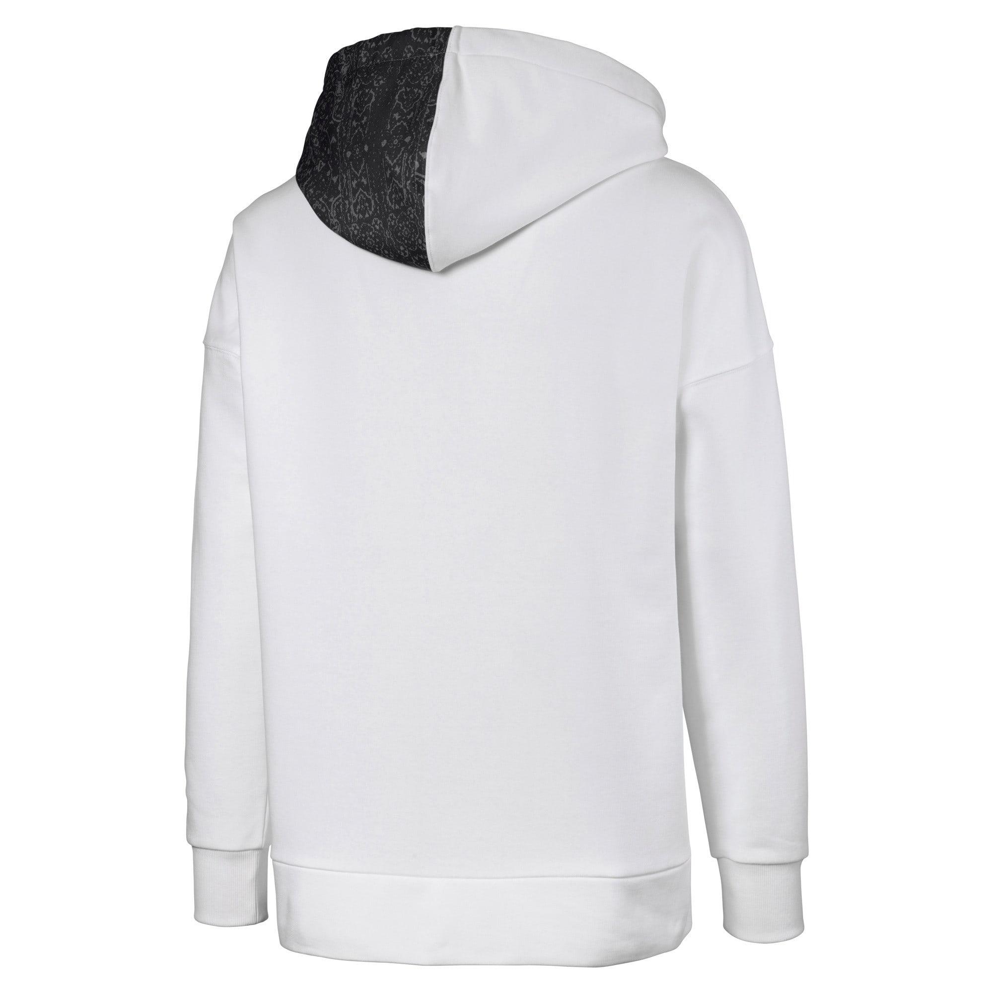 Thumbnail 5 van PUMA x LES BENJAMINS hoodie voor mannen, Puma White, medium