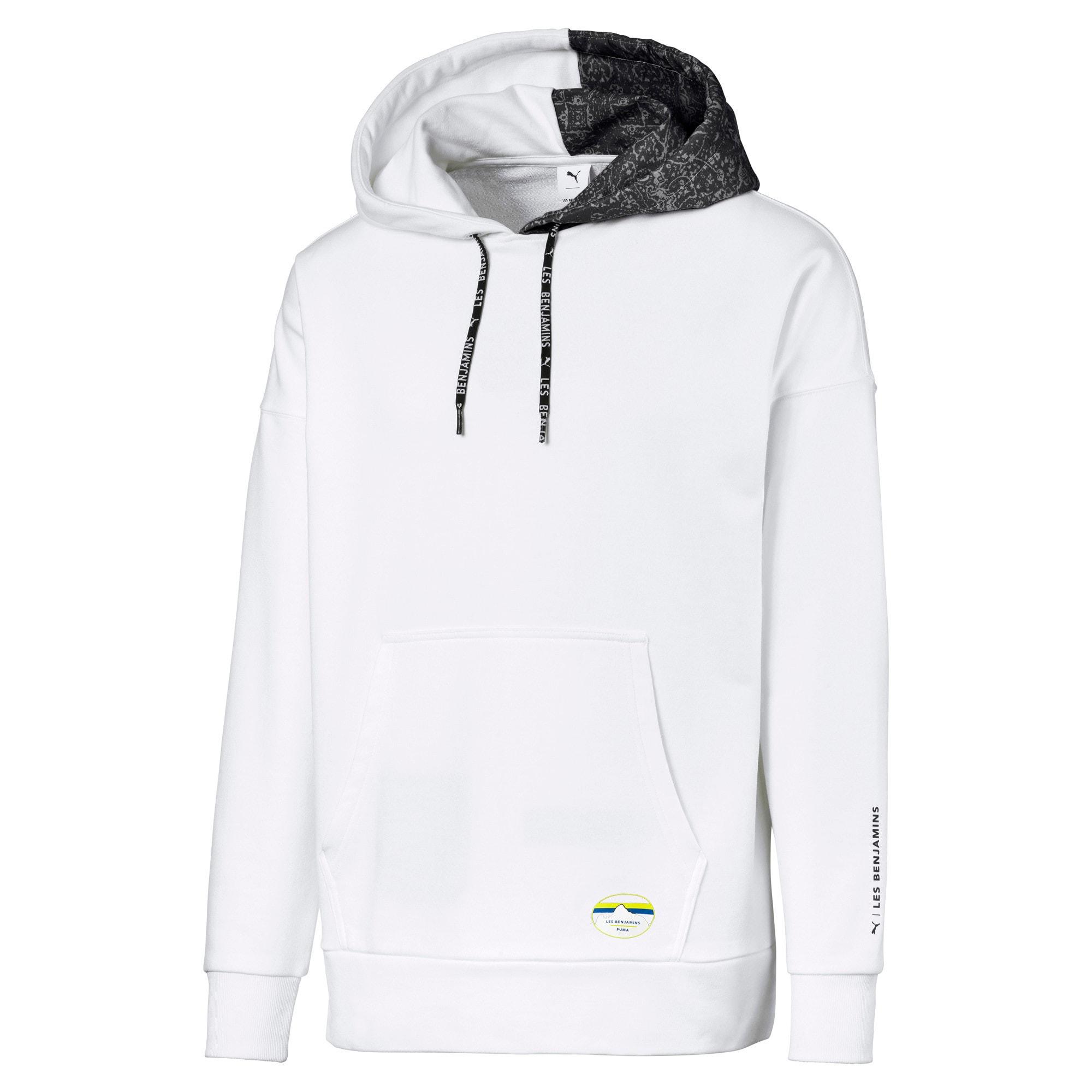 Thumbnail 1 van PUMA x LES BENJAMINS hoodie voor mannen, Puma White, medium