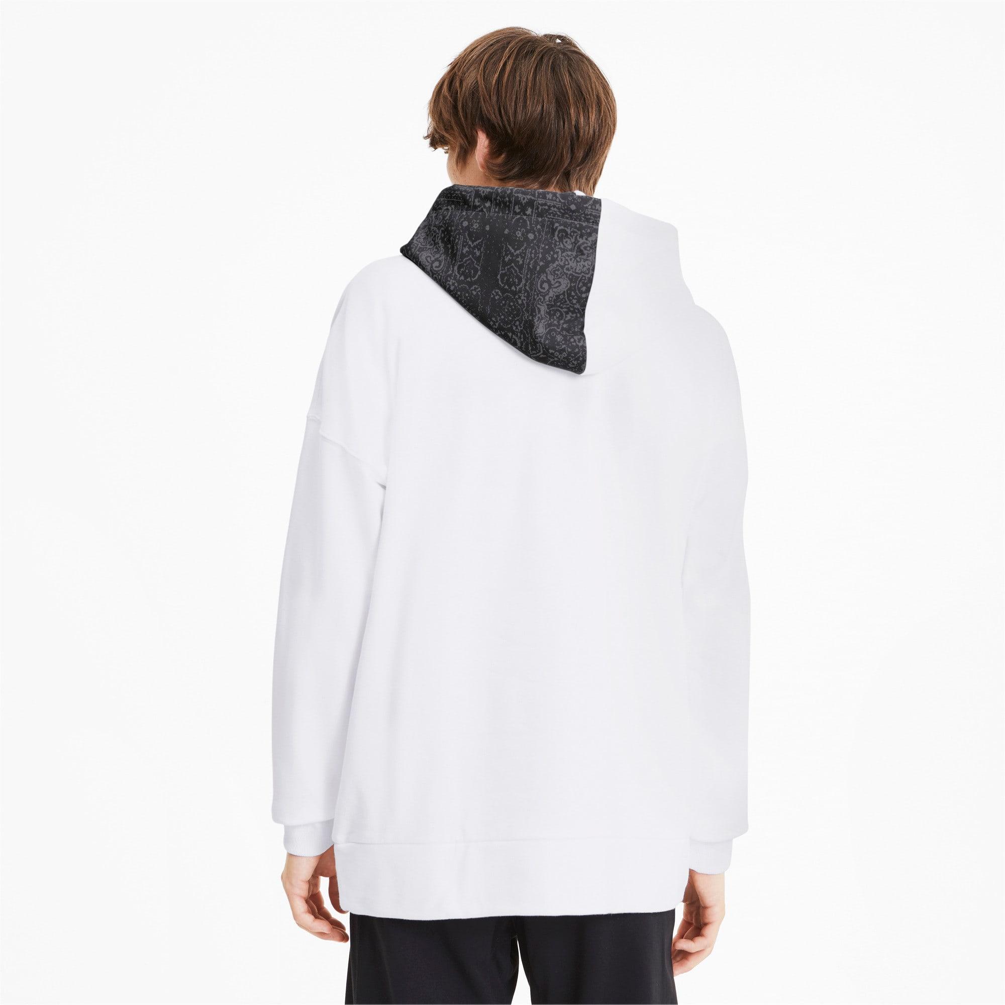 Thumbnail 3 van PUMA x LES BENJAMINS hoodie voor mannen, Puma White, medium