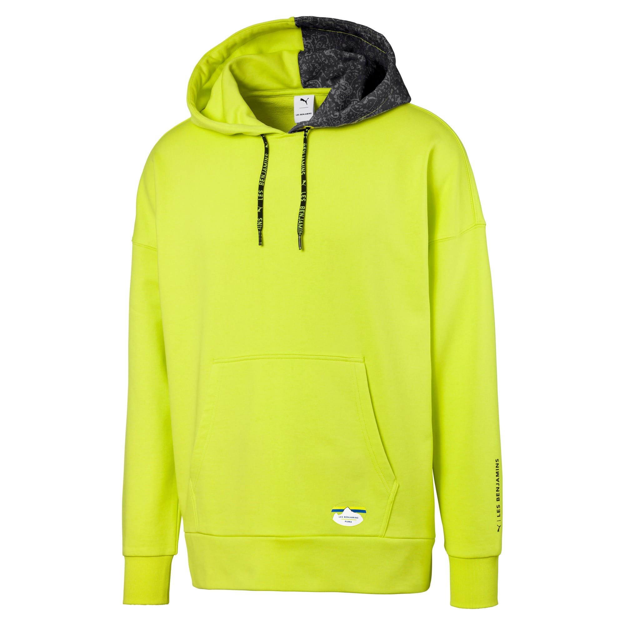 Thumbnail 1 of PUMA x LES BENJAMINS Men's Hoodie, Nrgy Yellow, medium