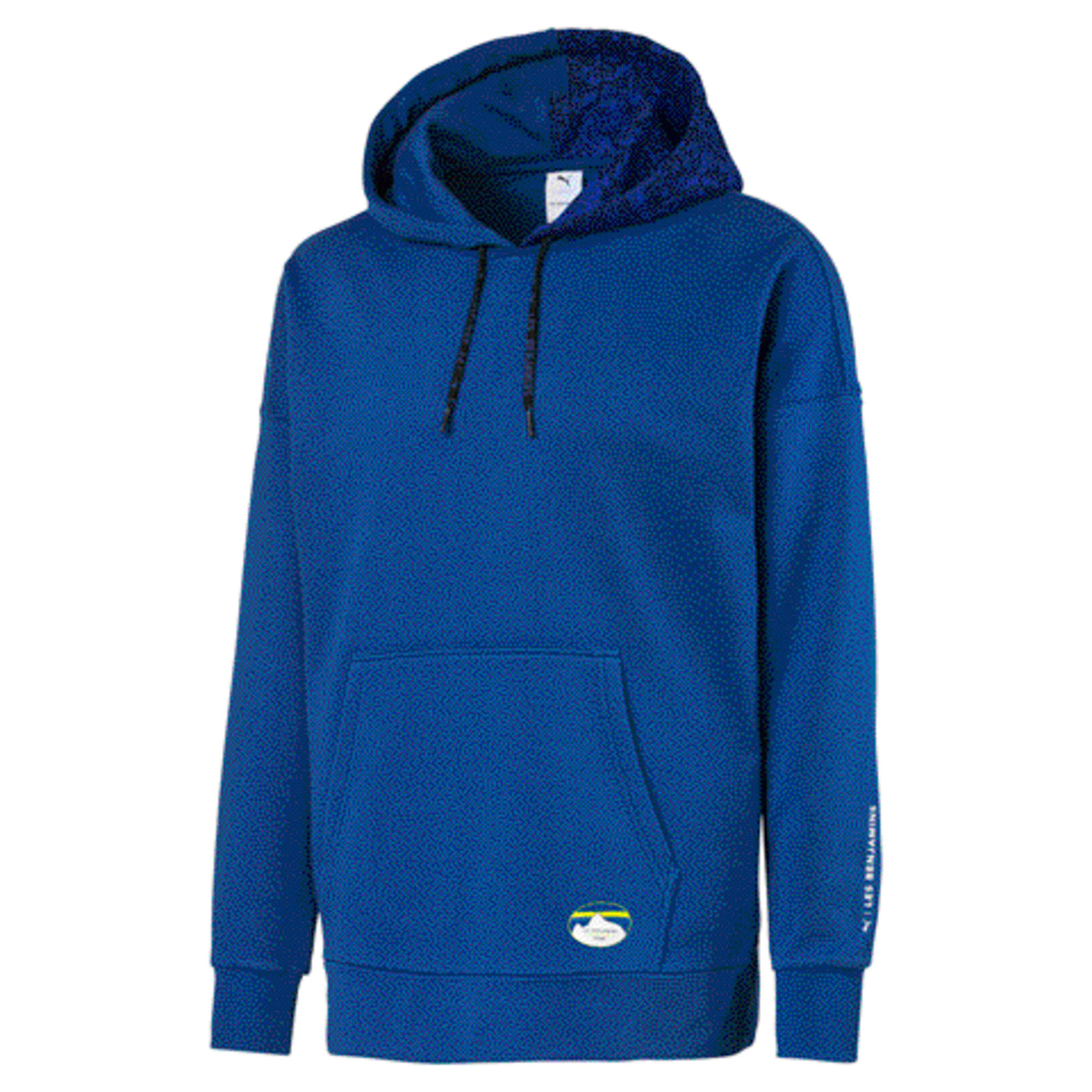PUMA x LES BENJAMINS Men's Hoodie, Galaxy Blue, large