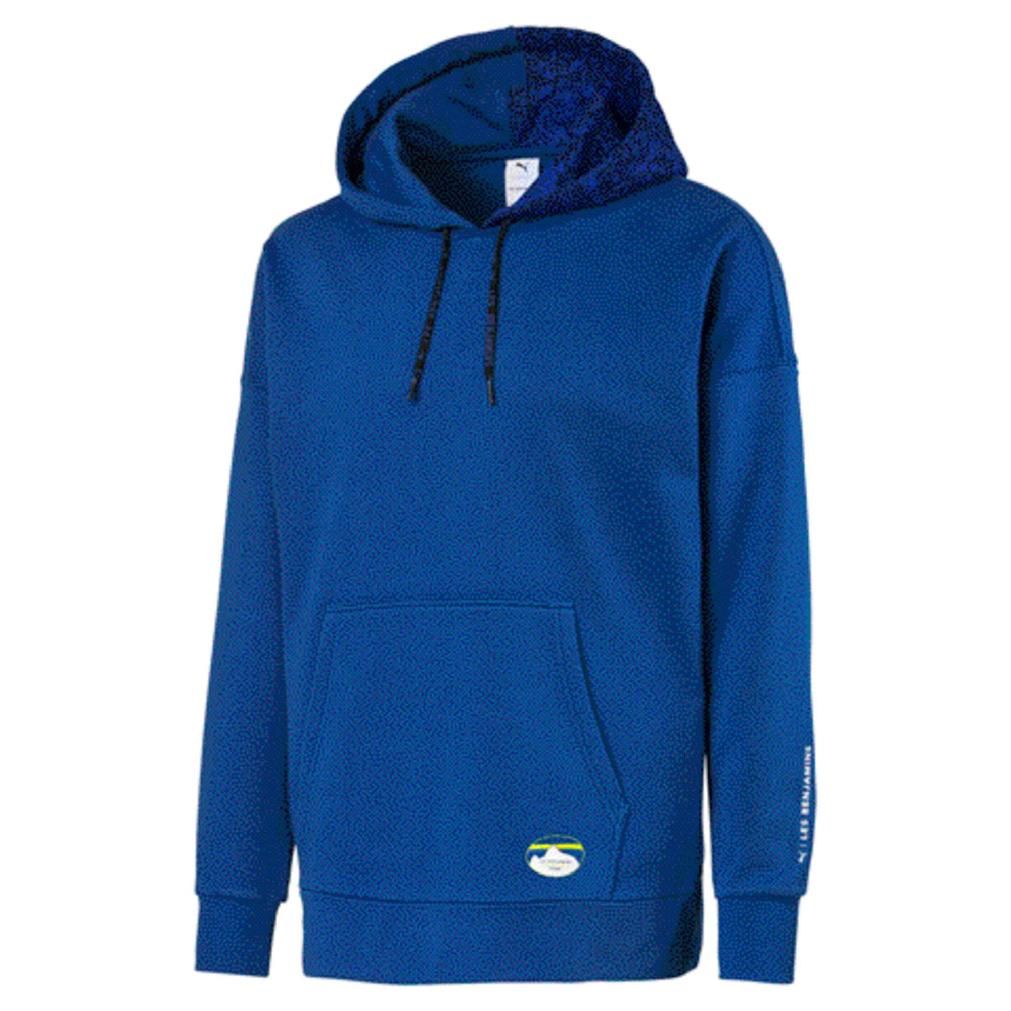 Miniatura 1 de Sudadera con capucha PUMA x LES BENJAMINS para hombre, Galaxy Blue, mediano