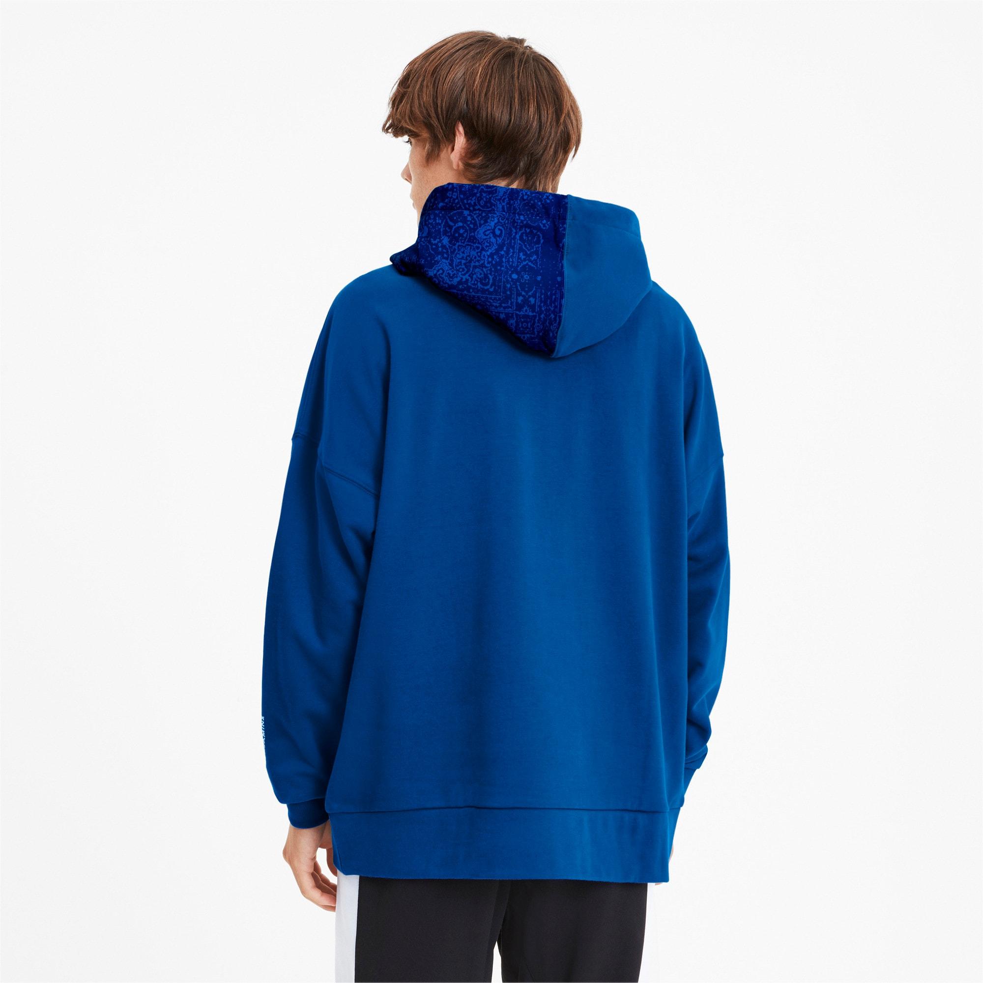 Miniatura 3 de Sudadera con capucha PUMA x LES BENJAMINS para hombre, Galaxy Blue, mediano