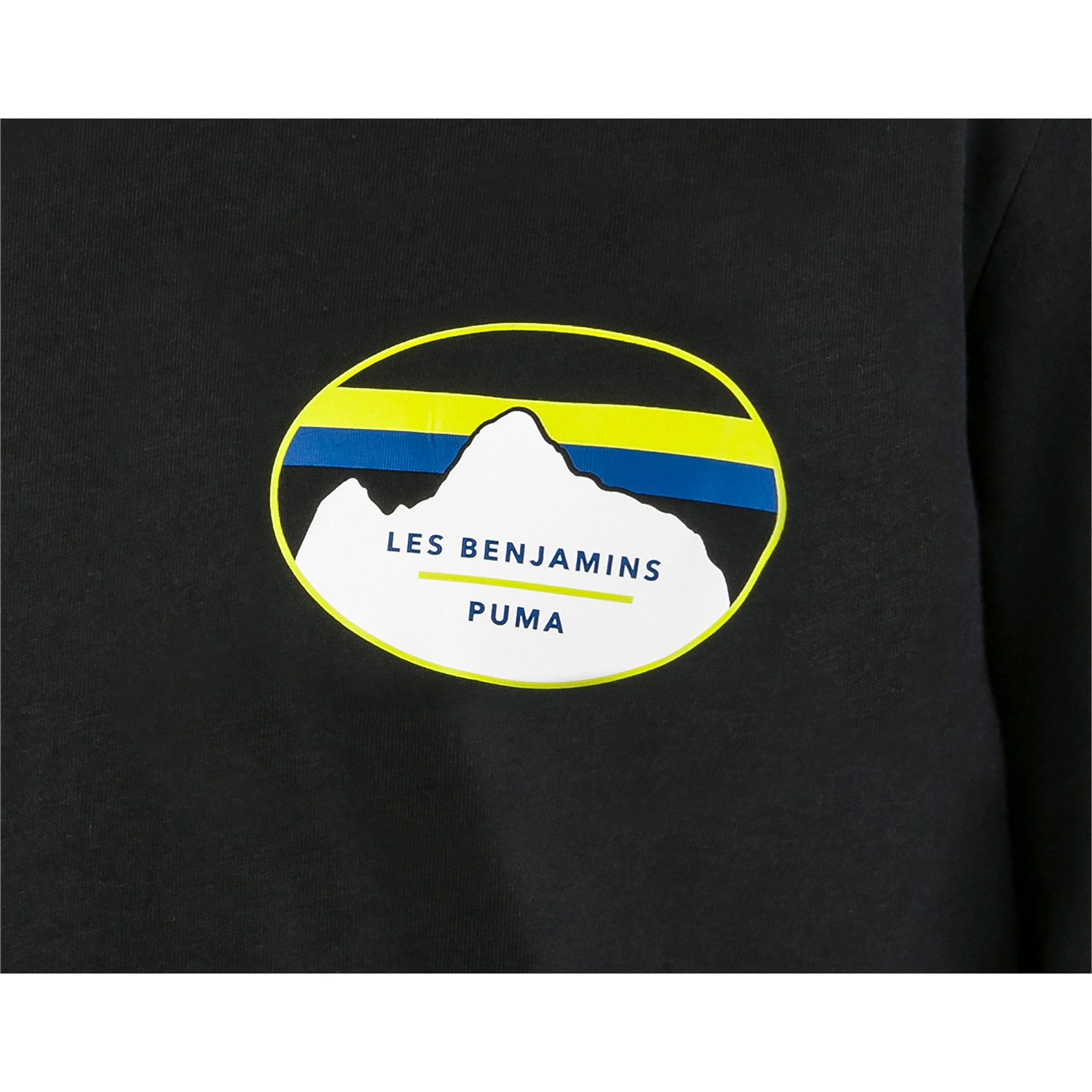 Thumbnail 6 van PUMA x LES BENJAMINS T-shirt met korte mouwen voor mannen, Puma Black, medium