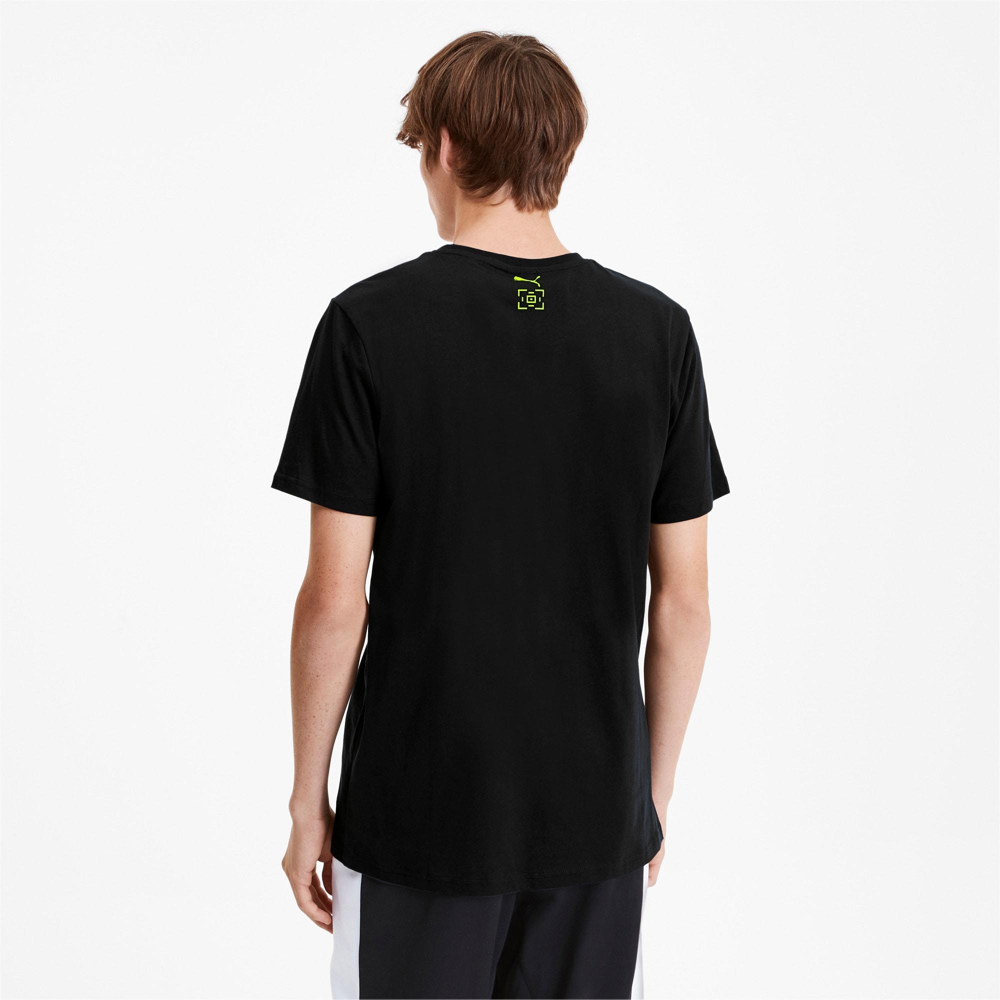 Thumbnail 3 van PUMA x LES BENJAMINS T-shirt met korte mouwen voor mannen, Puma Black, medium