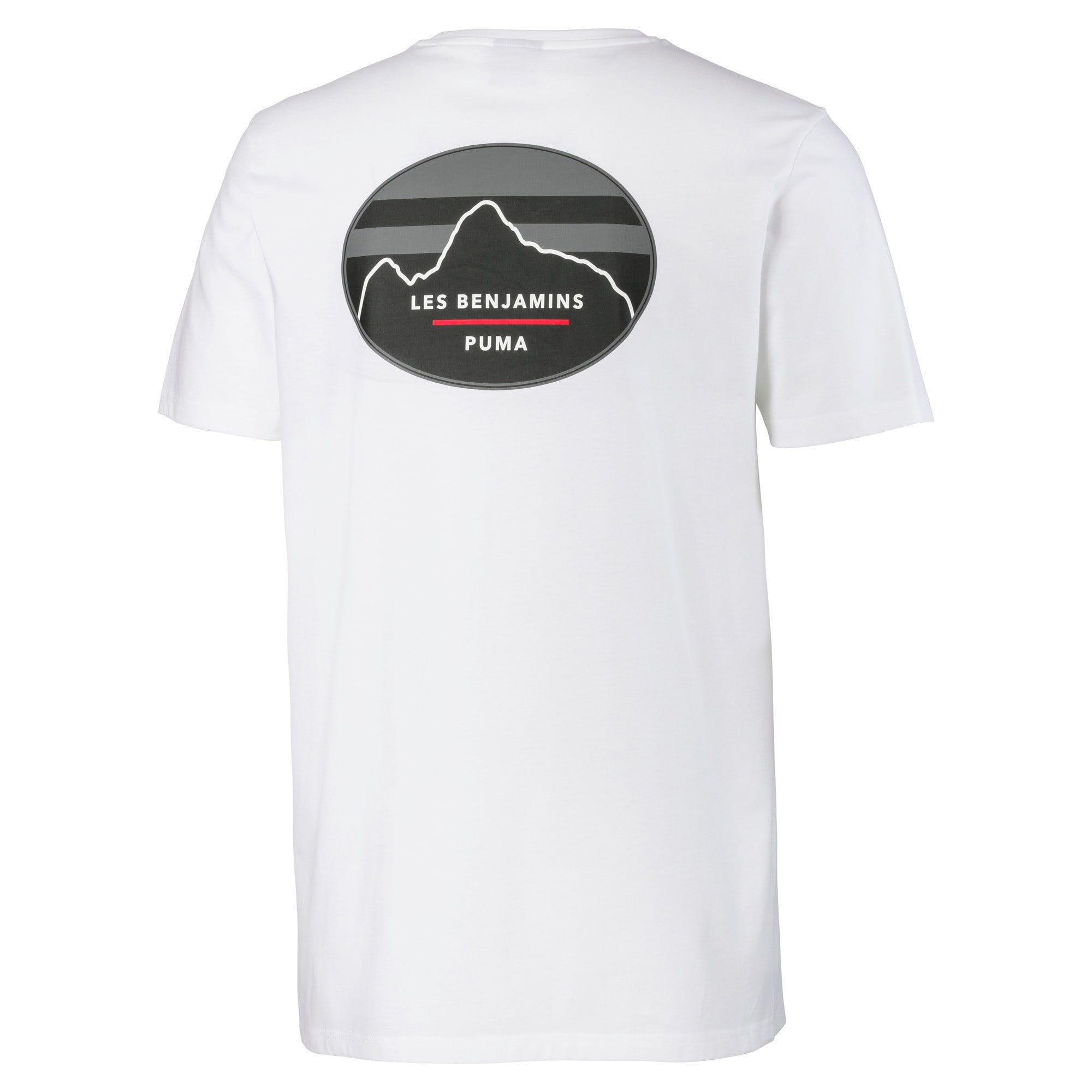 Miniatura 5 de Camiseta PUMA x LES BENJAMINS para hombre, Puma White, mediano