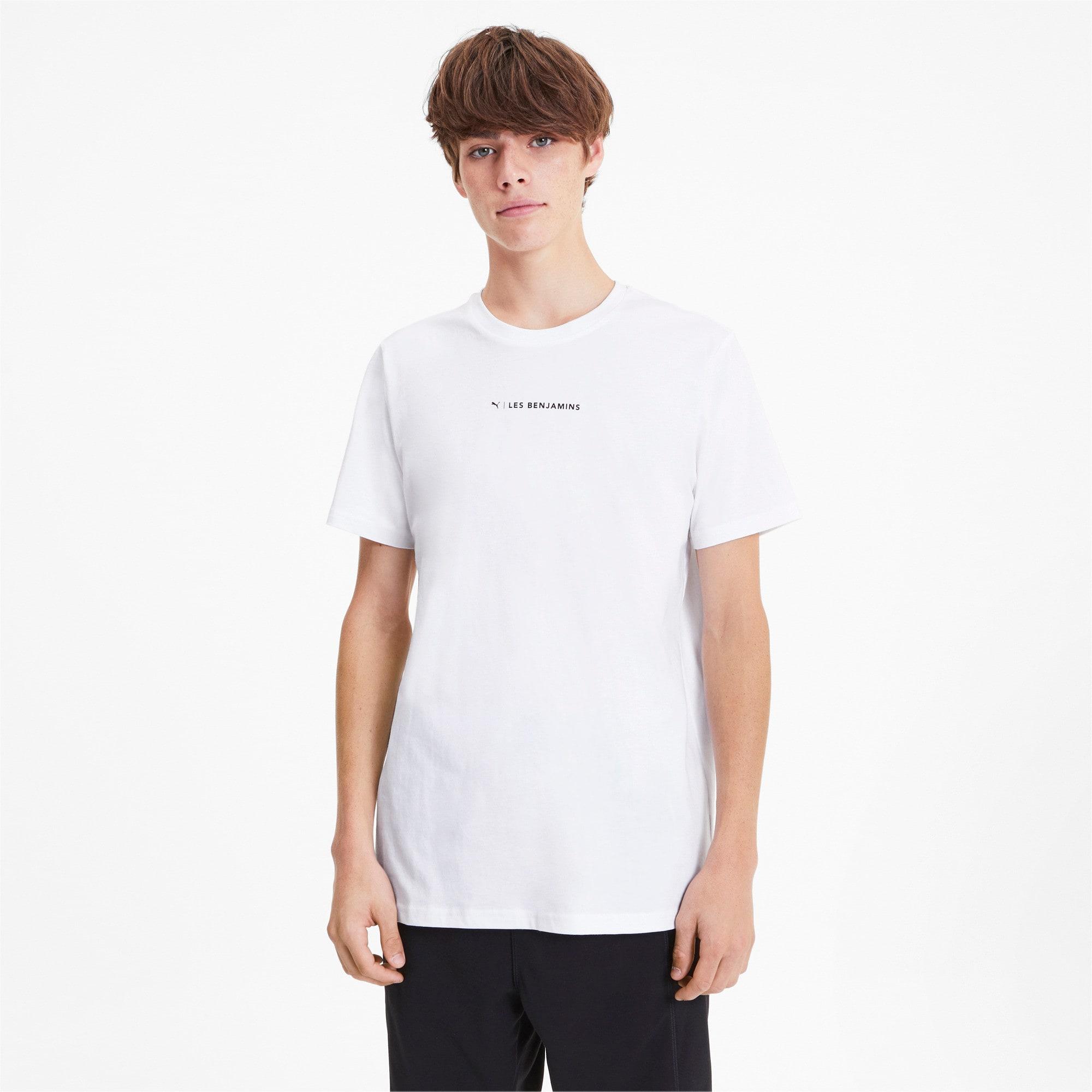 Miniatura 1 de Camiseta PUMA x LES BENJAMINS para hombre, Puma White, mediano