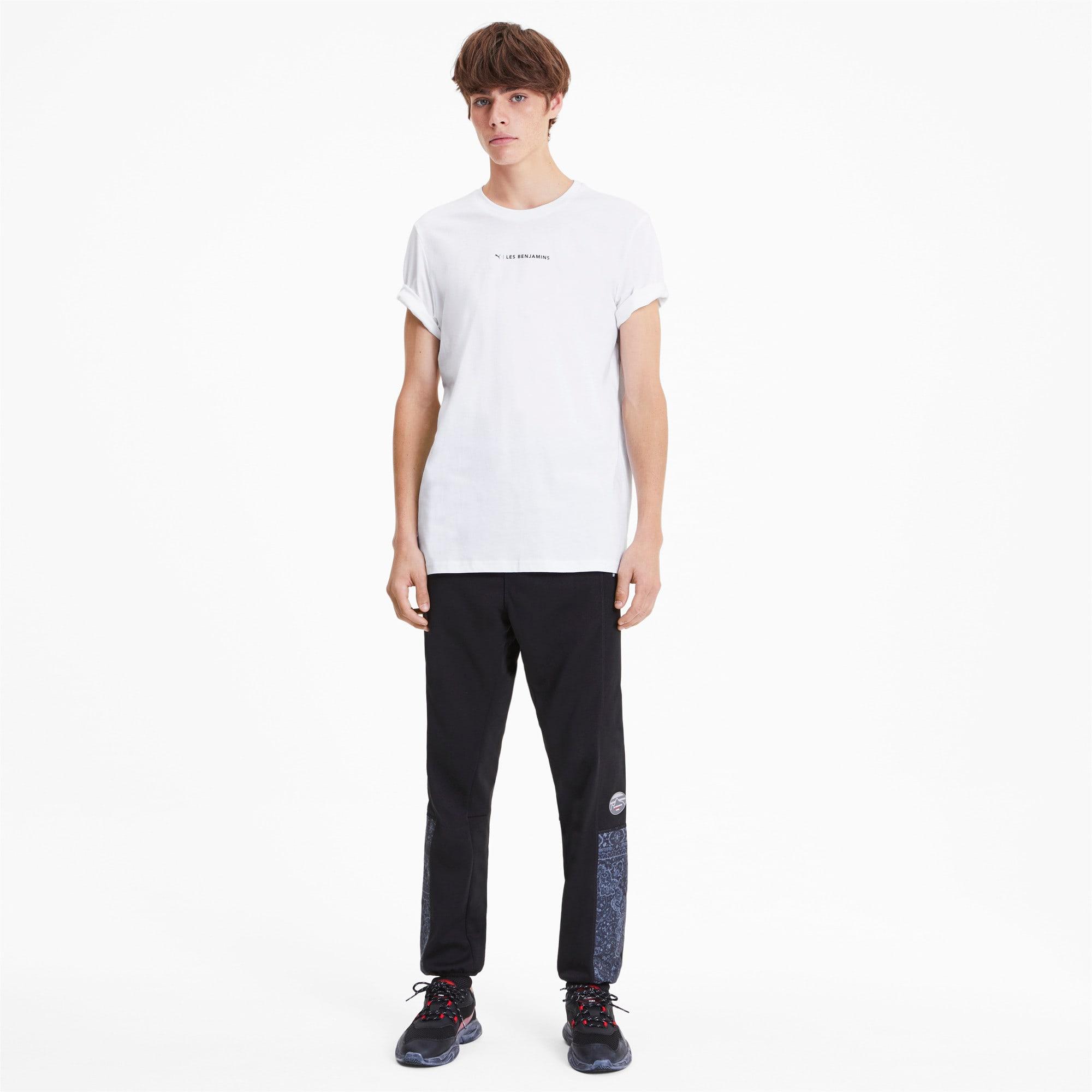 Miniatura 3 de Camiseta PUMA x LES BENJAMINS para hombre, Puma White, mediano