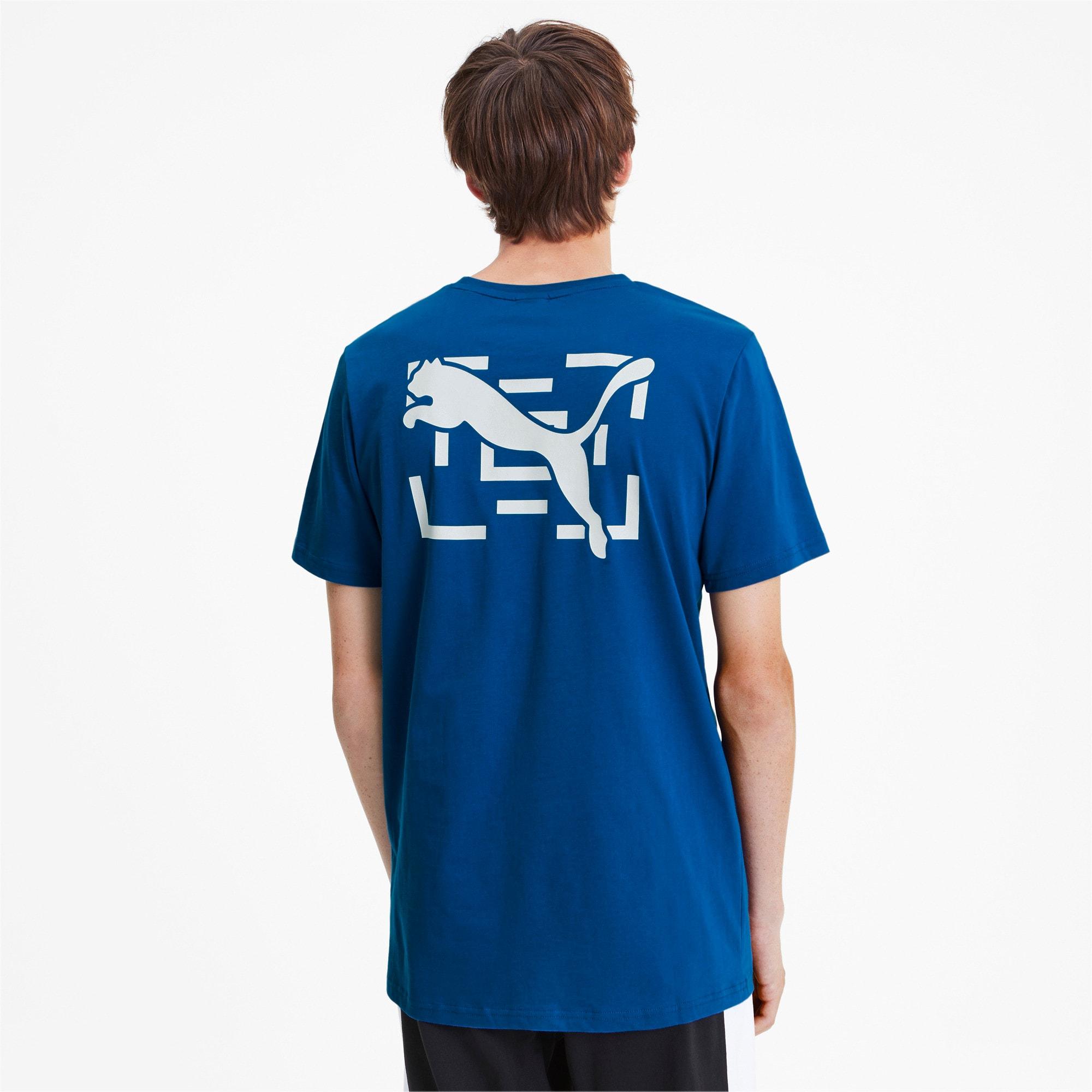 Thumbnail 2 of PUMA x LES BENJAMINS Tシャツ, Galaxy Blue, medium-JPN