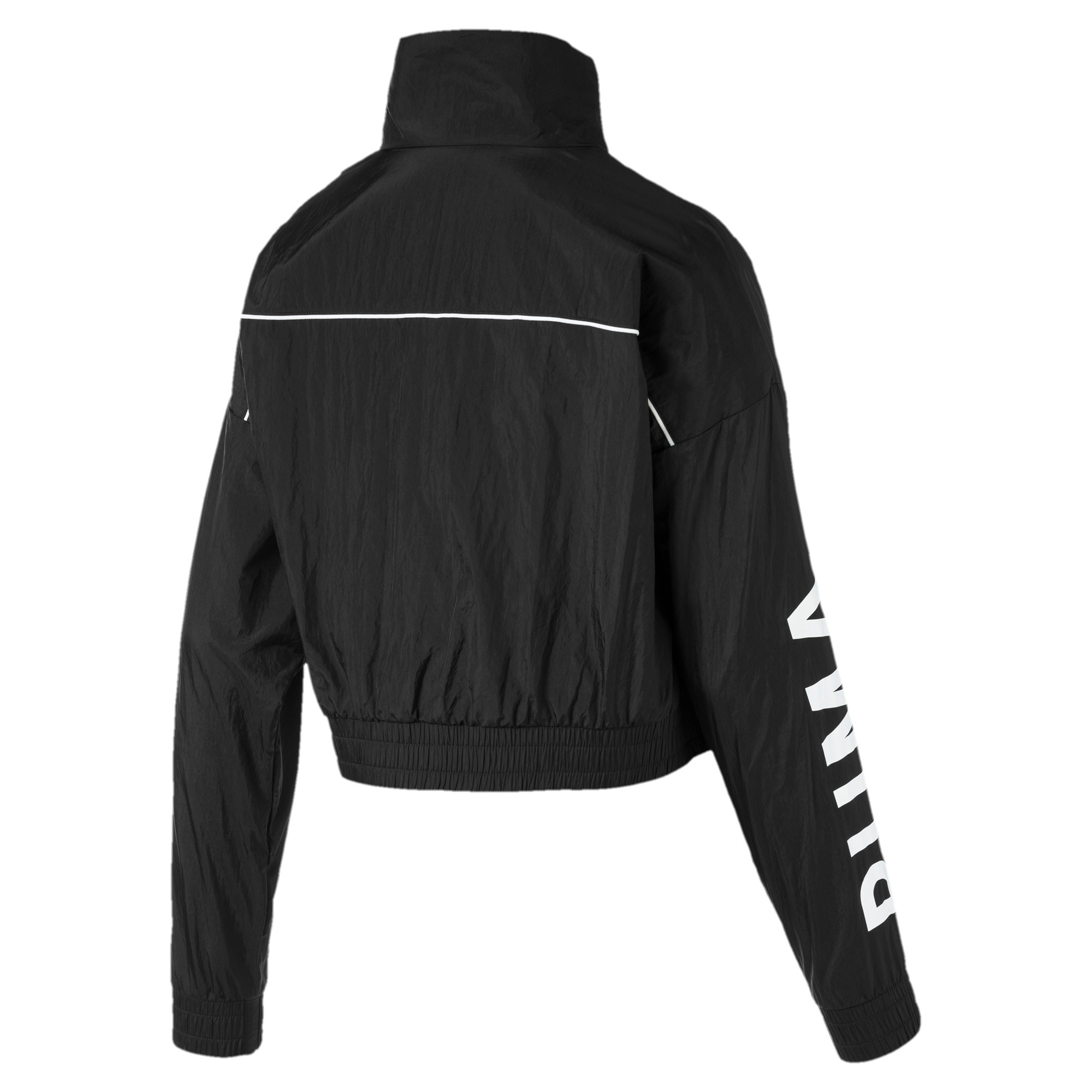 Thumbnail 5 of Chase Woven Women's Jacket, Puma Black, medium