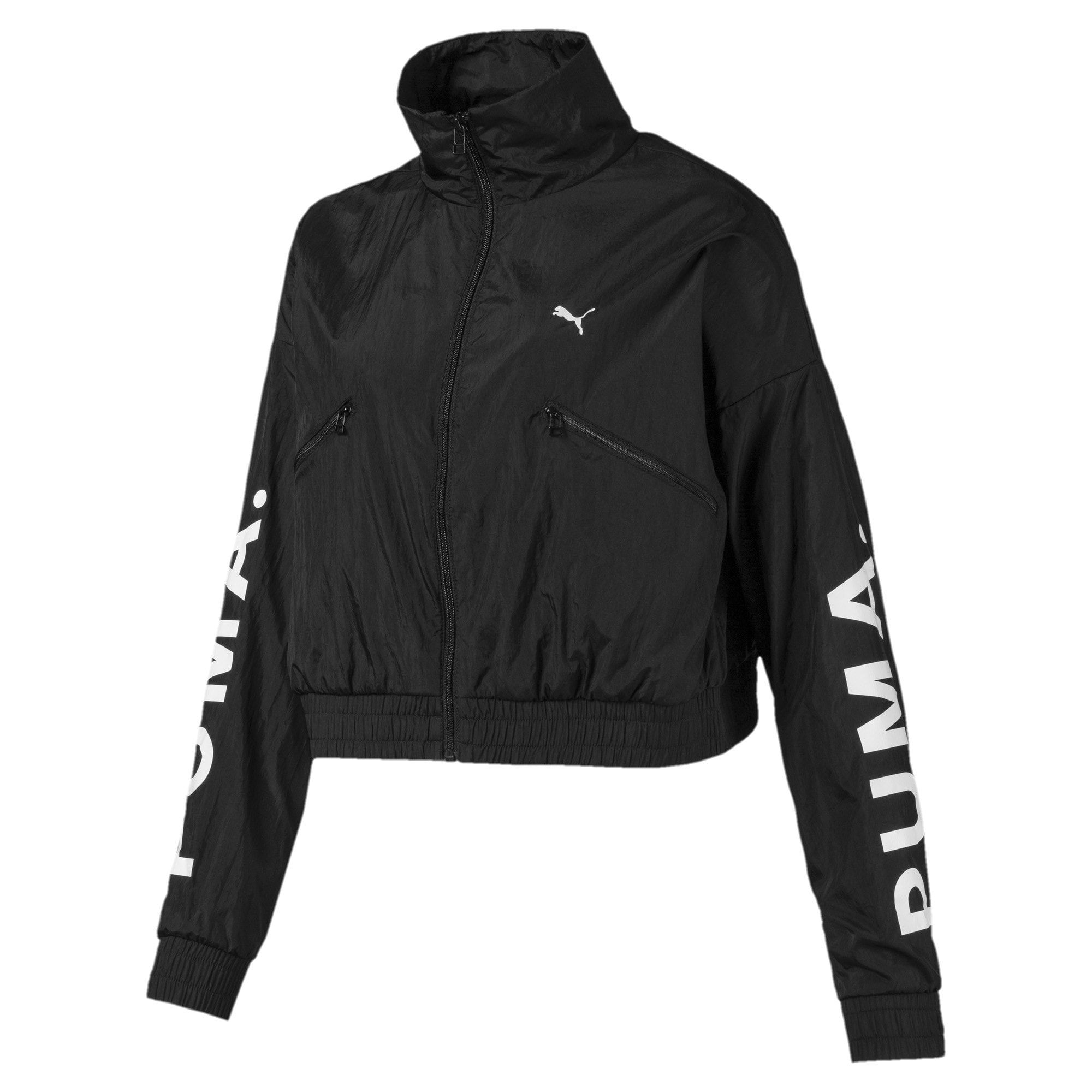 Thumbnail 1 of Chase Woven Women's Jacket, Puma Black, medium