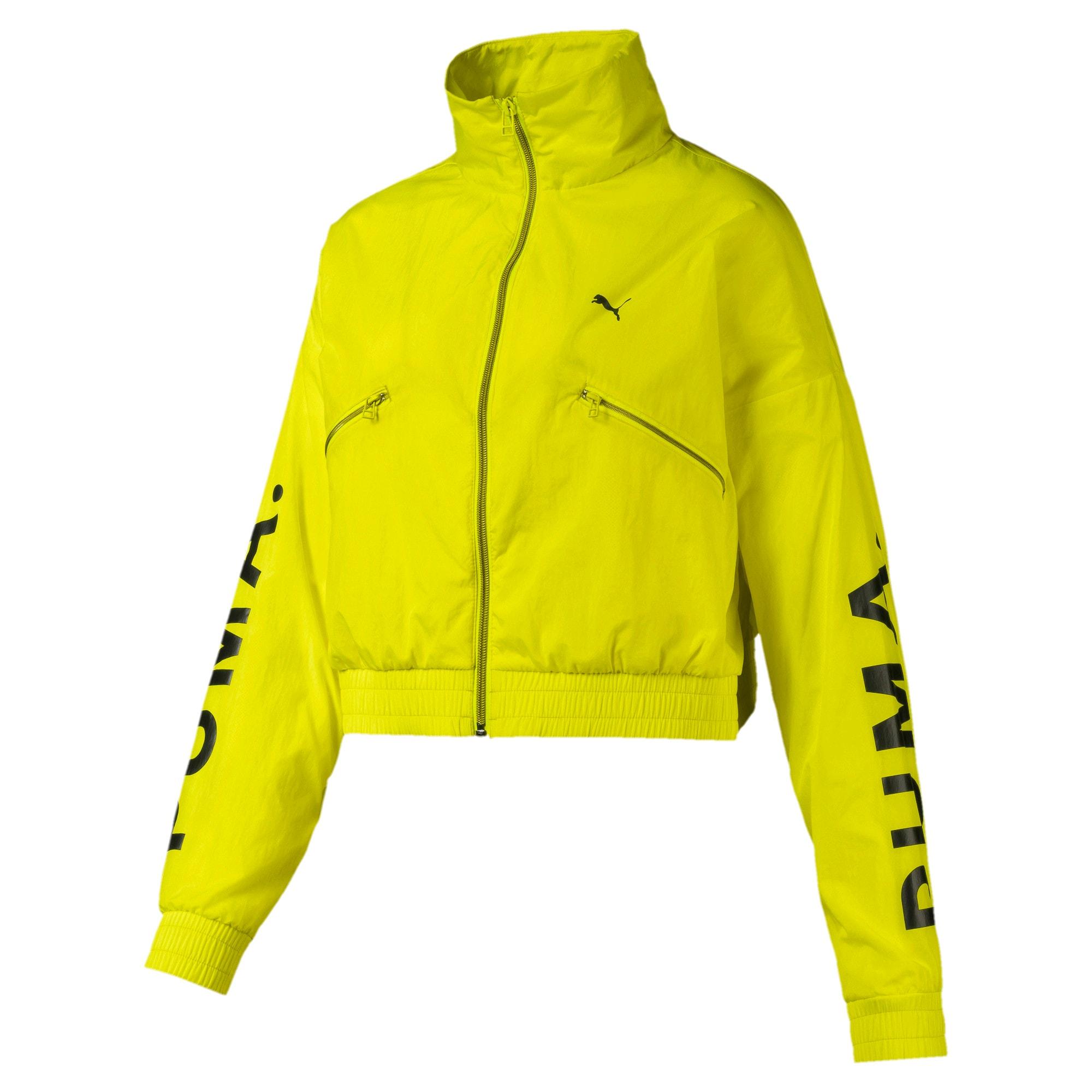 Thumbnail 4 of Chase Woven Women's Jacket, Yellow Alert, medium