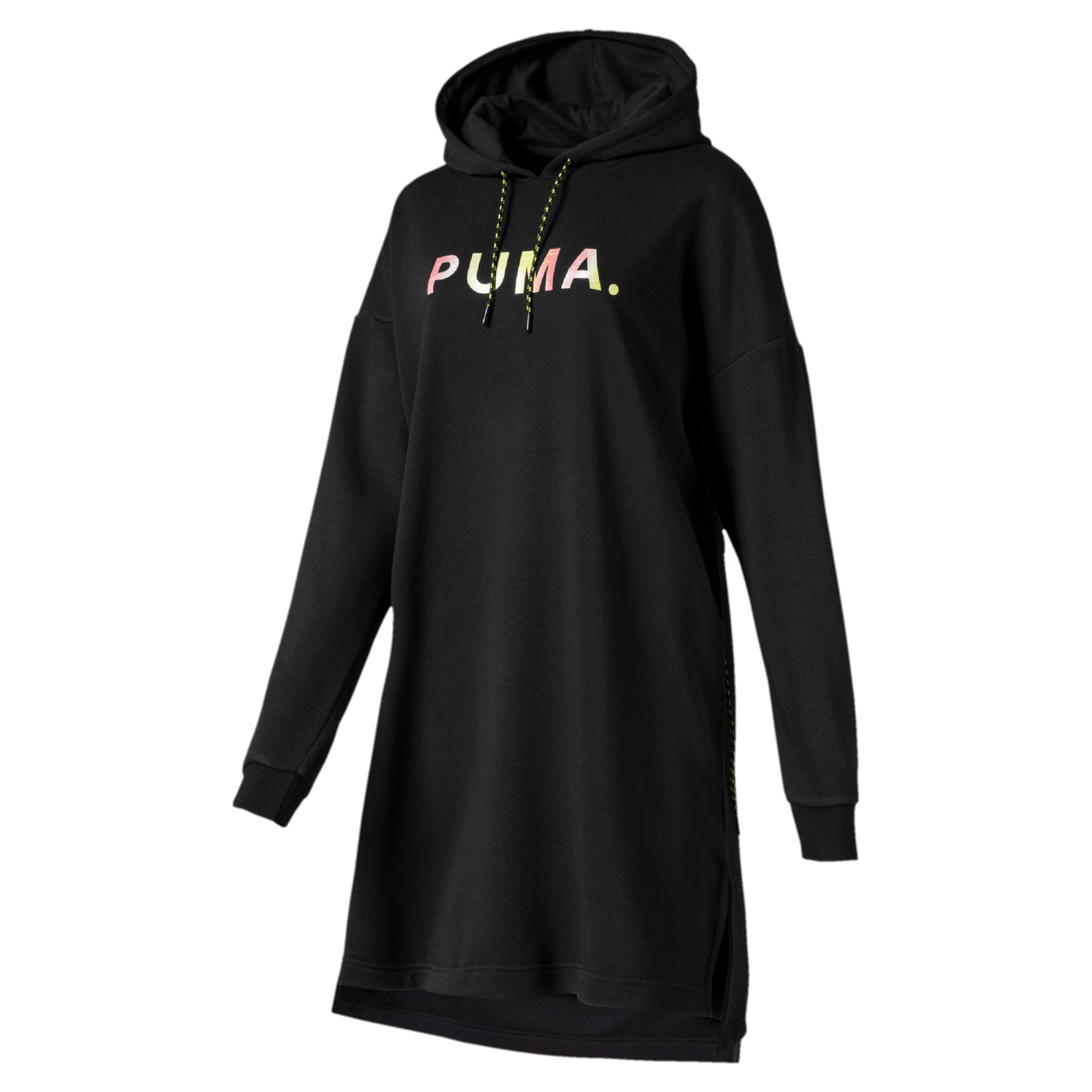 Thumbnail 4 of Chase Hooded Women's Dress, Puma Black, medium