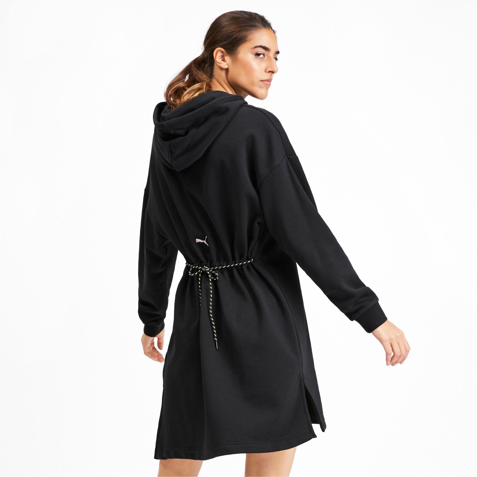 Thumbnail 2 of Chase Hooded Women's Dress, Puma Black, medium