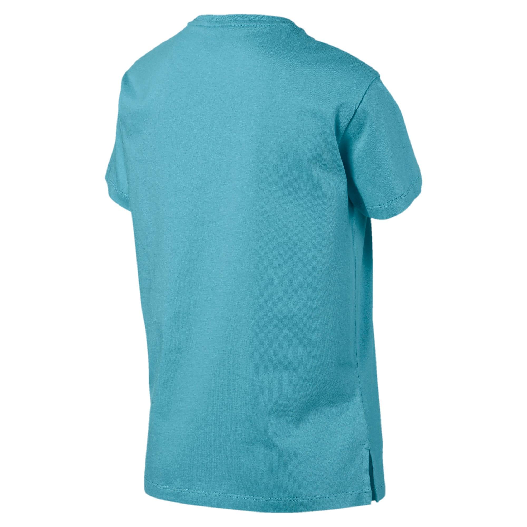 Thumbnail 5 of Classics Logo T-shirt voor dames, Milky Blue, medium