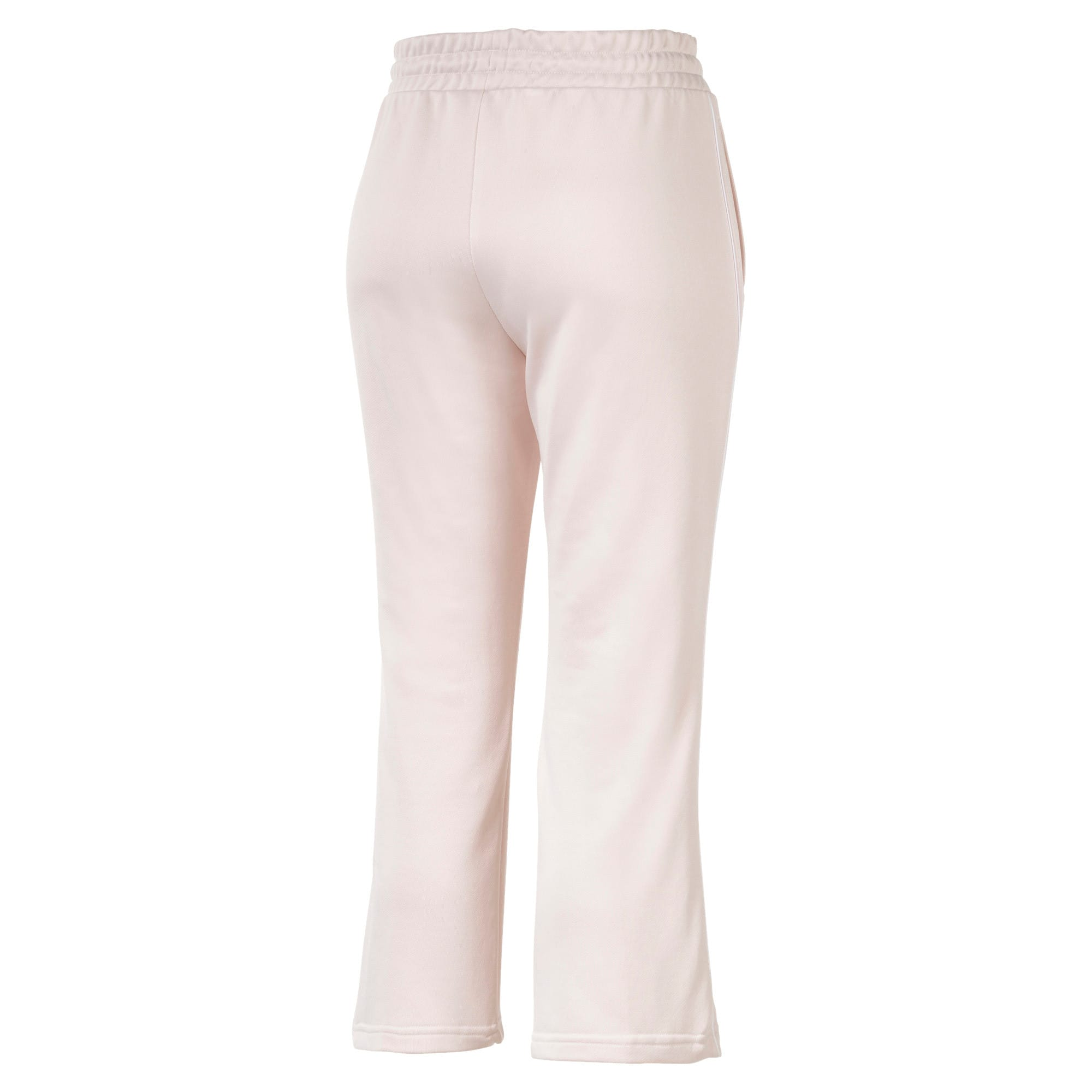 Thumbnail 5 of Classics Kick Flare Knitted Women's Pants, Pastel Parchment, medium