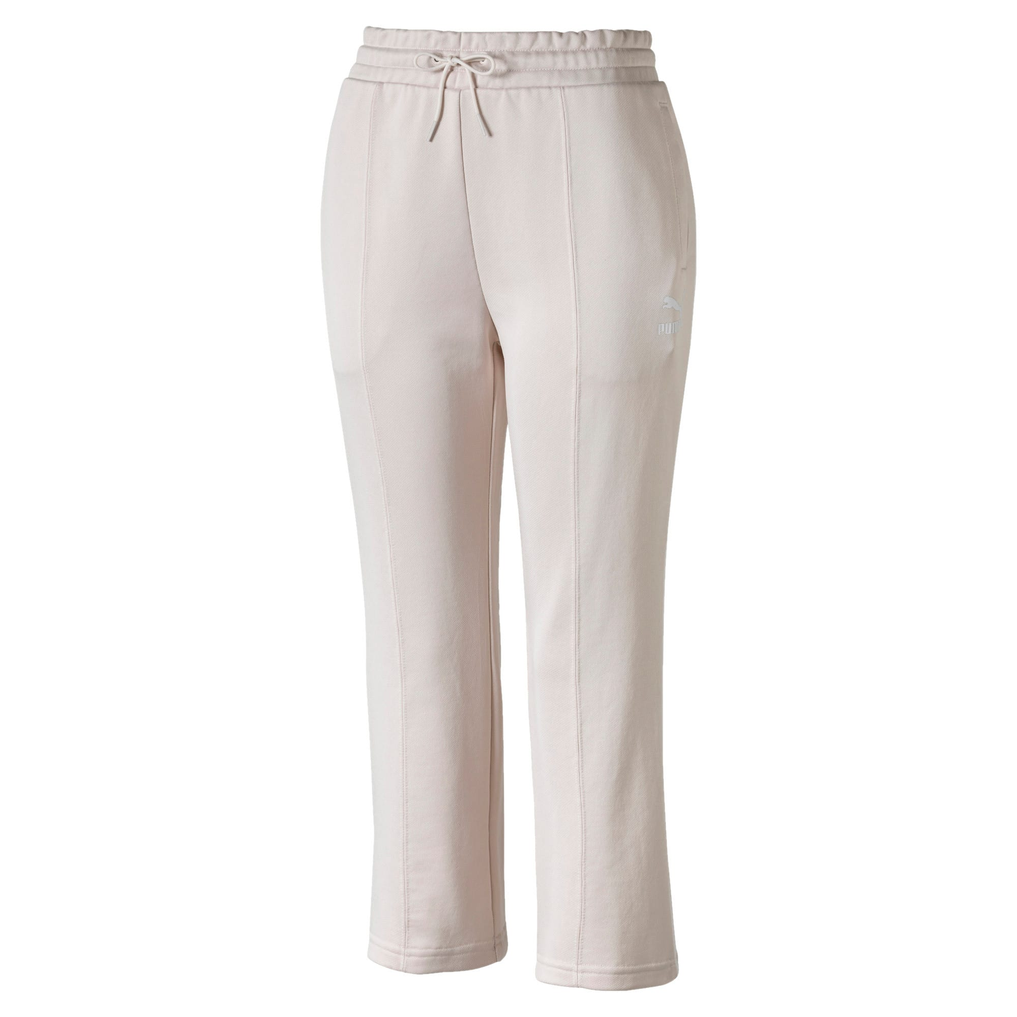 Thumbnail 4 of Classics Kick Flare Knitted Women's Pants, Pastel Parchment, medium