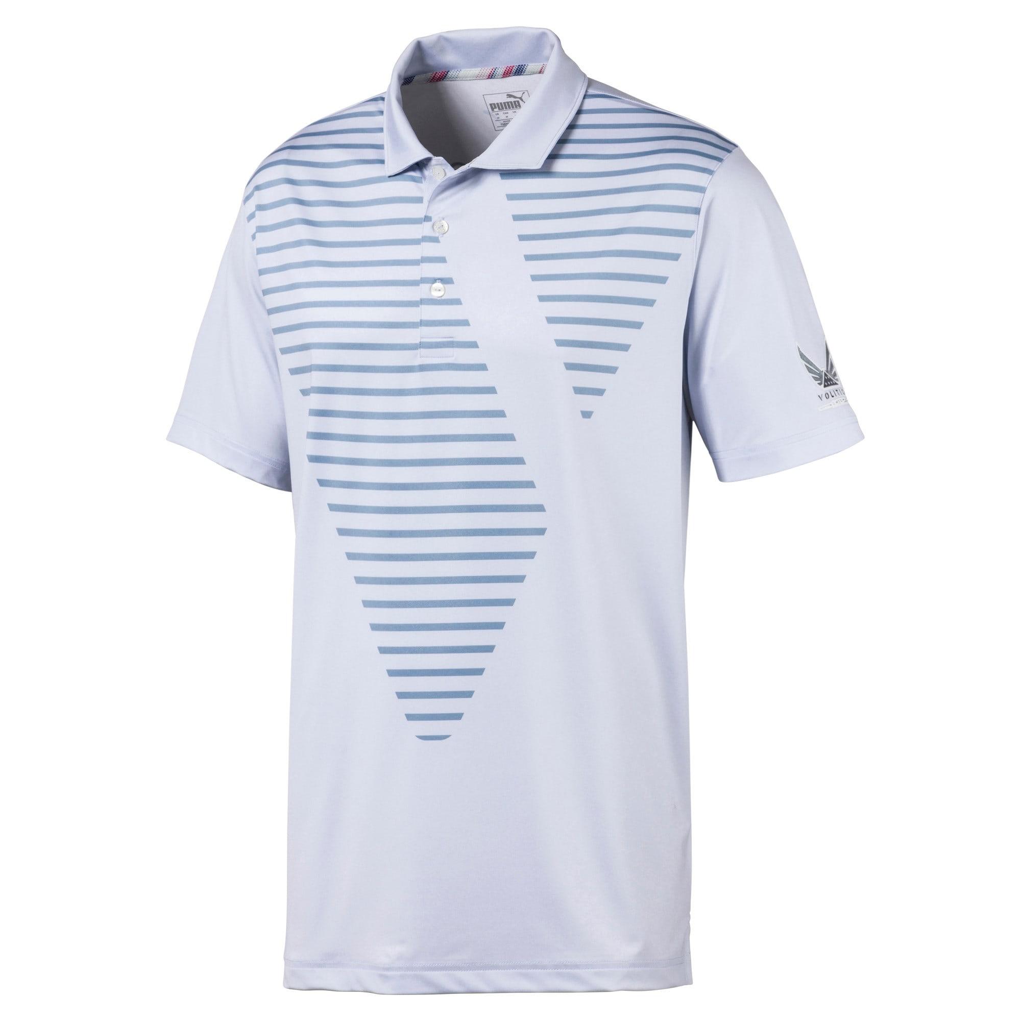 Miniatura 1 de Camiseta tipo polo Volition Sky para hombre, Heather, mediano