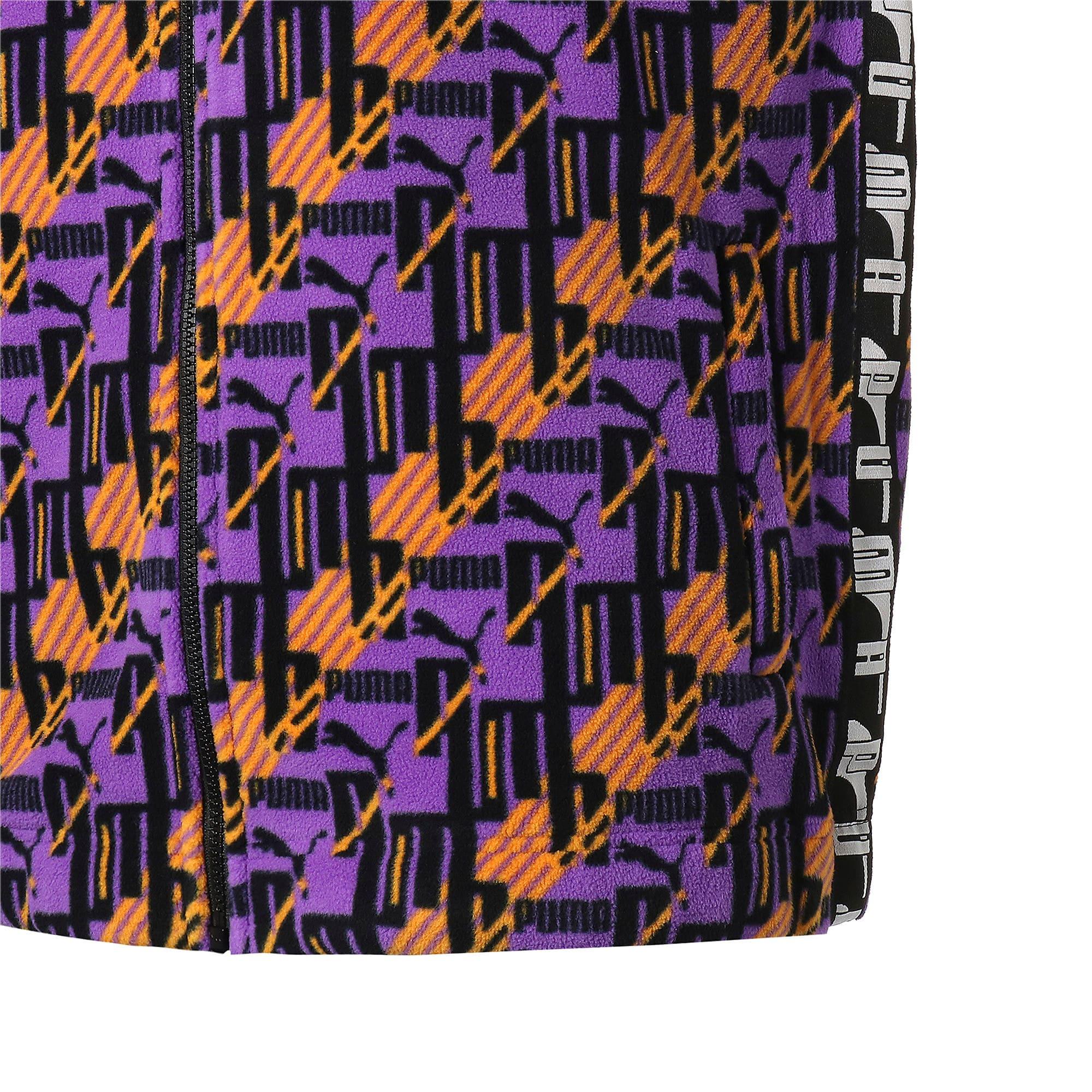 Thumbnail 6 of PUMA XTG AOP ウーブンジャケット, Jaffa Orange-Purple, medium-JPN